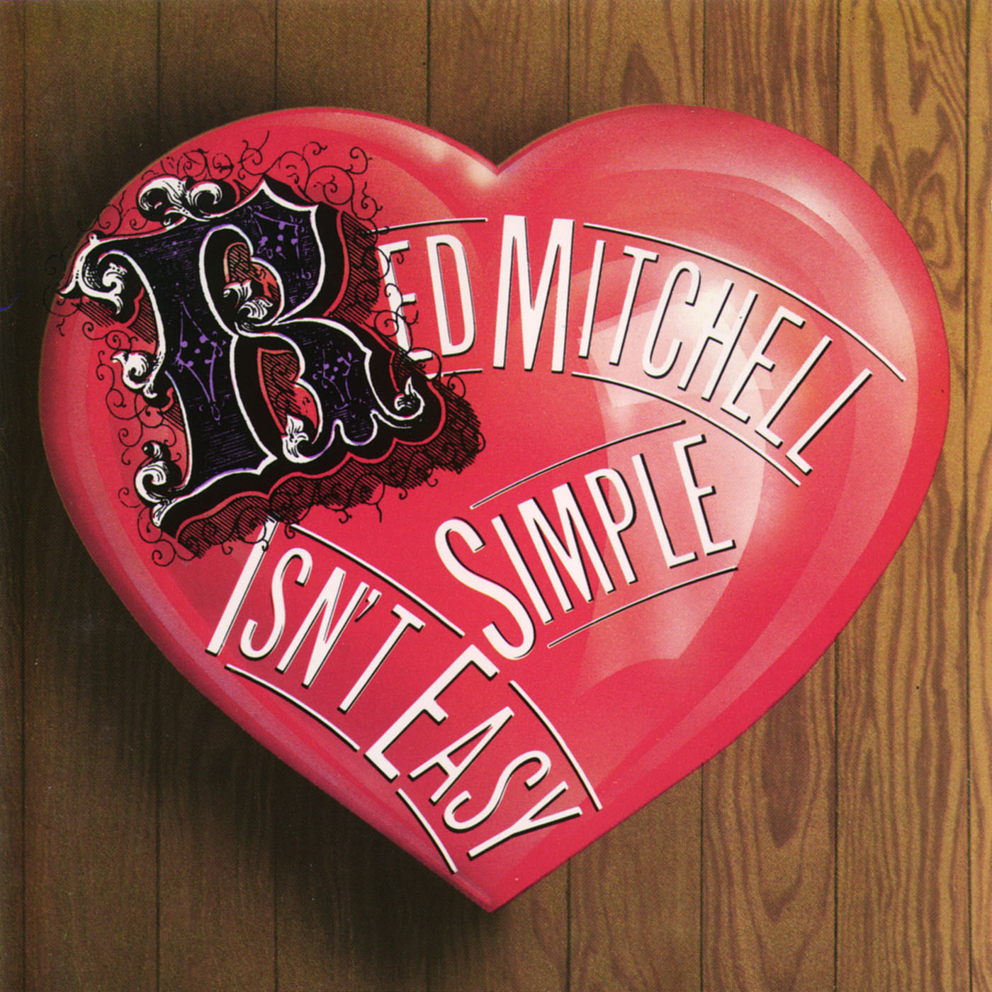 Simple Isn't Easy by Red Mitchell cover