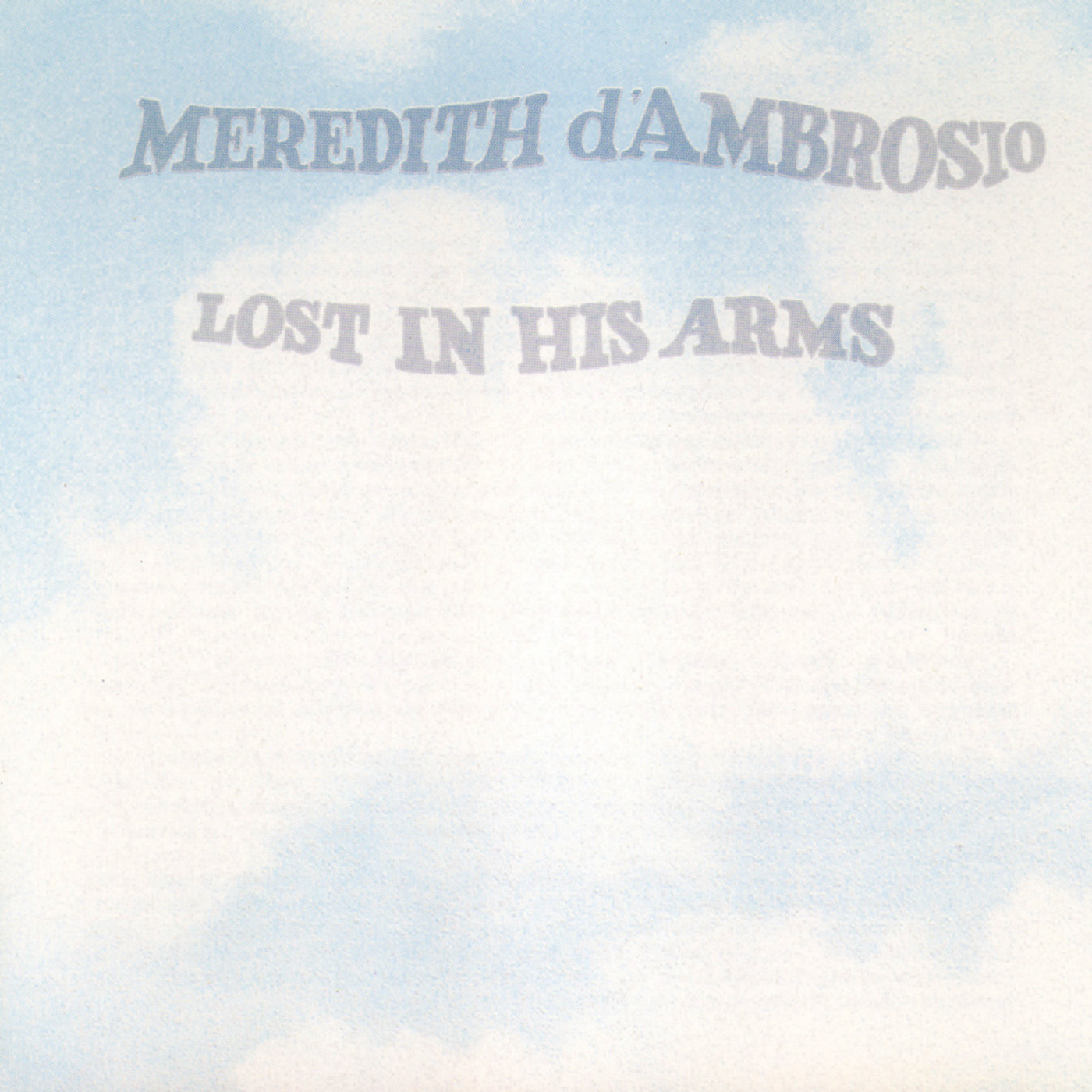Lost In His Arms by Meredith d\'Ambrosio cover