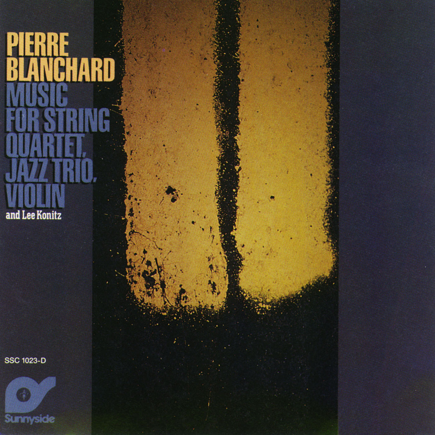 Music For String Quartet, Jazz Trio, Violin and Lee Lonitz by Pierre Blanchard cover