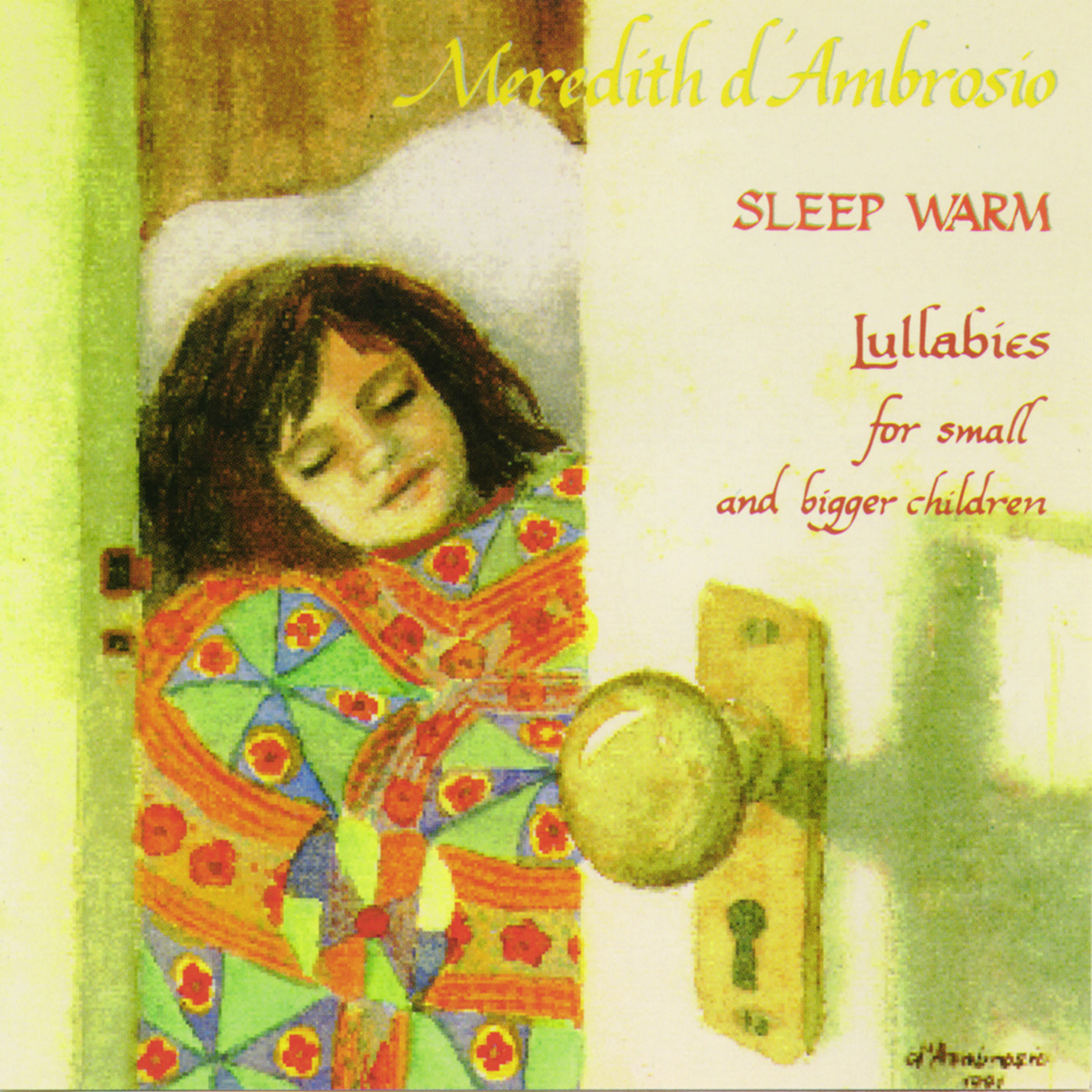 Sleep Warm by Meredith d'Ambrosio cover