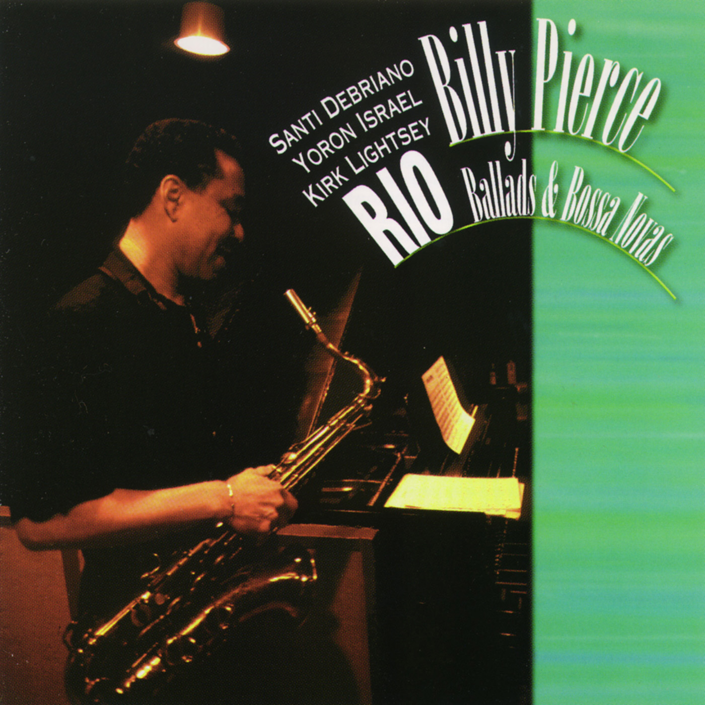 Rio - Ballads & Bossa Novas by Billy Pierce cover