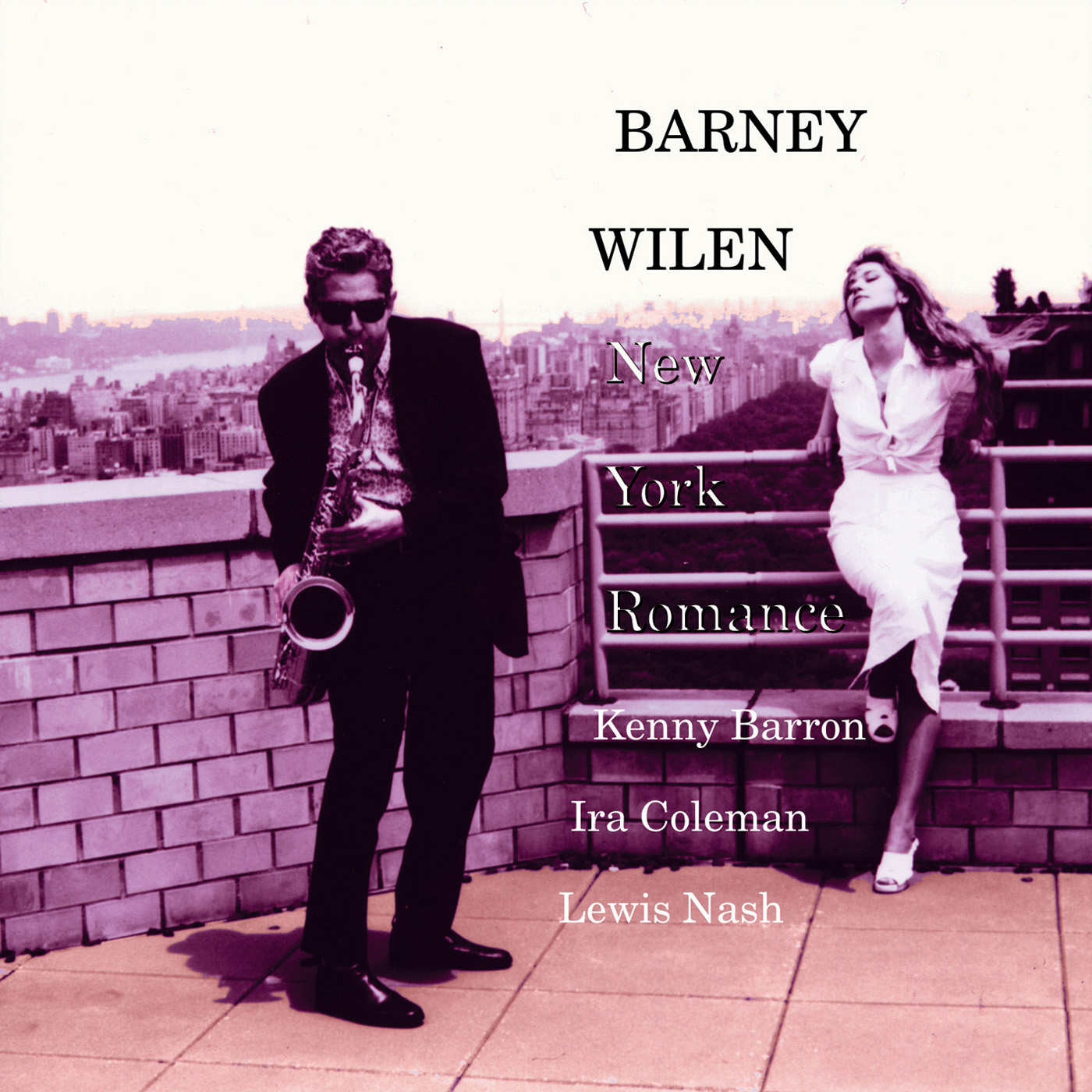 New York Romance by Barney Wilen cover
