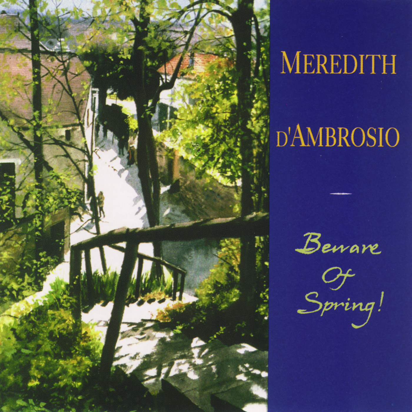 Beware Of Spring by Meredith d\'Ambrosio cover