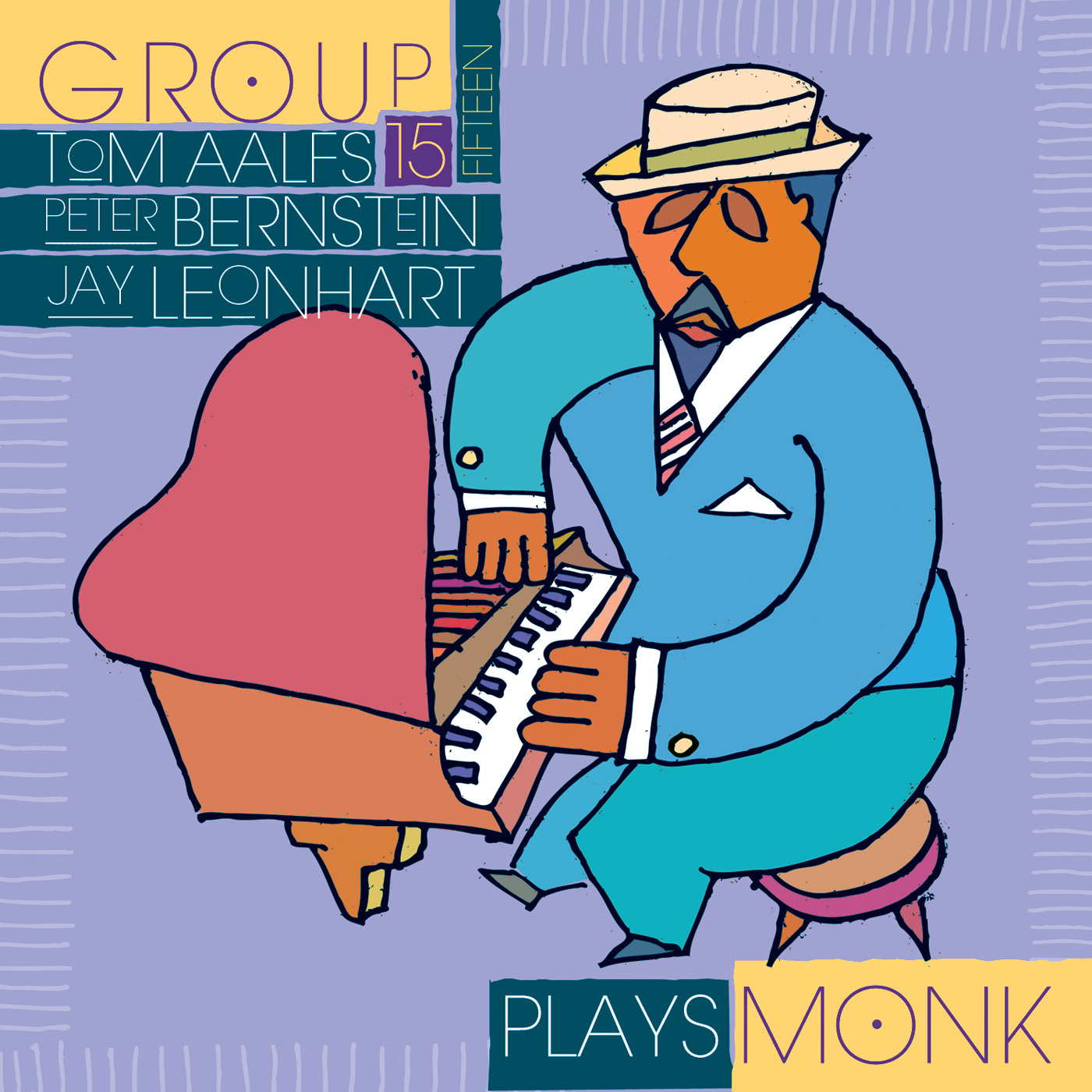 Group 15 Plays Monk by Group 15 cover