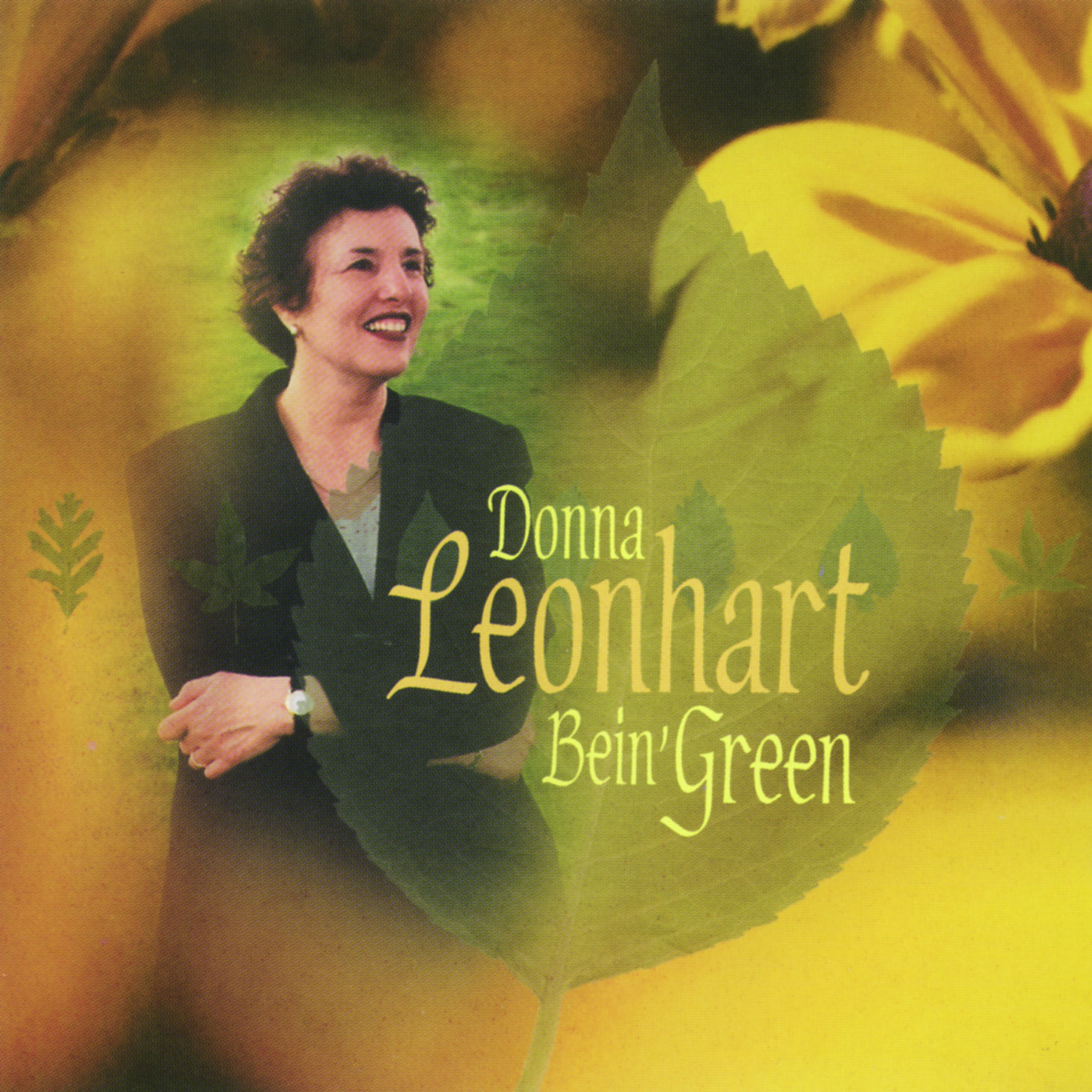 Bein' Green by Donna Leonhart cover