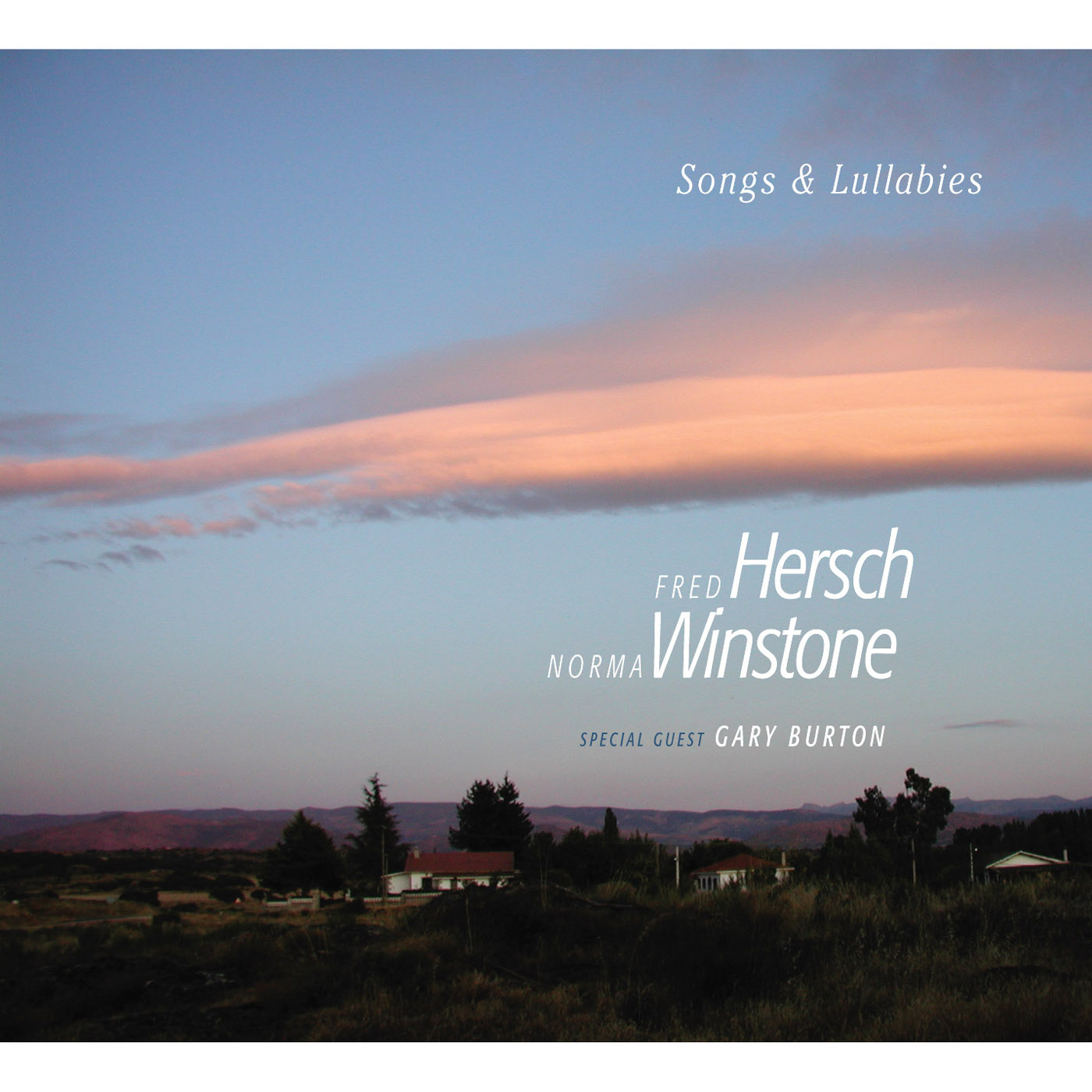 Songs & Lullabies by Fred Hersch & Norma Winstone cover