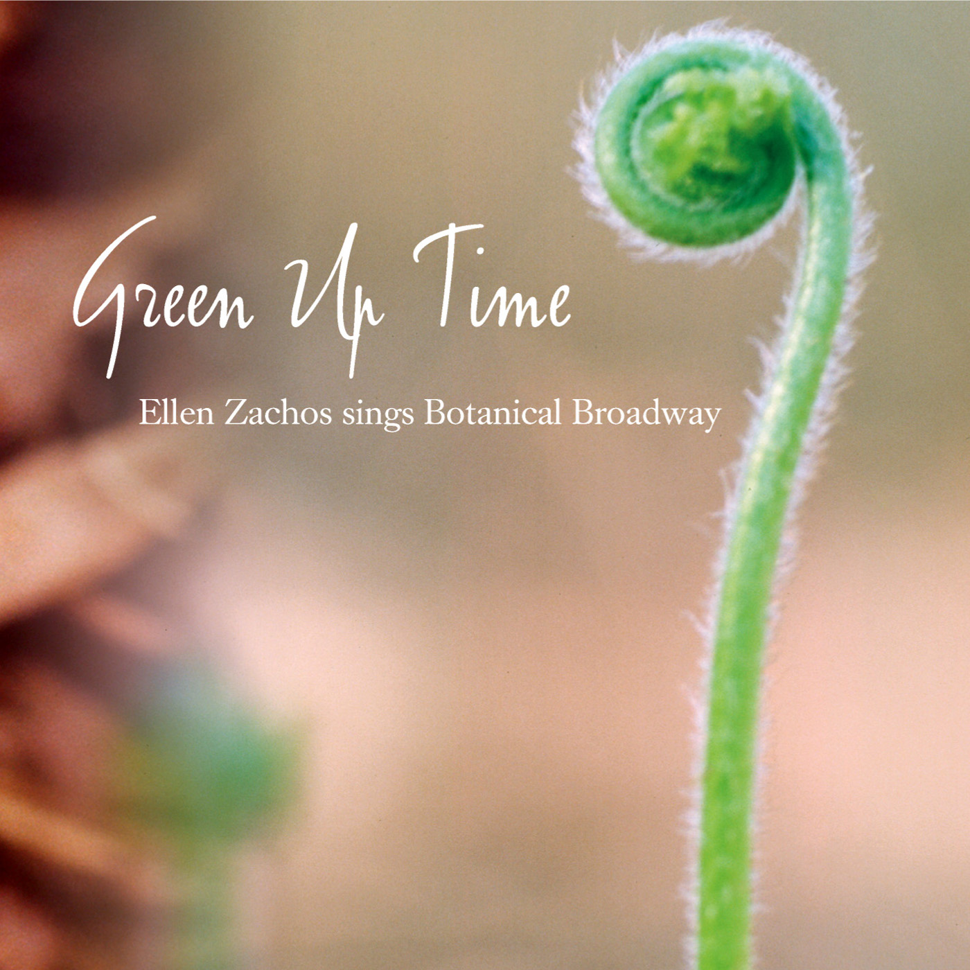Green Up Time by Ellen Zachos cover