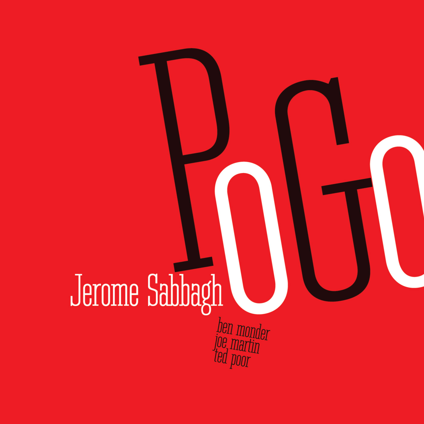 Pogo by Jerome Sabbagh cover