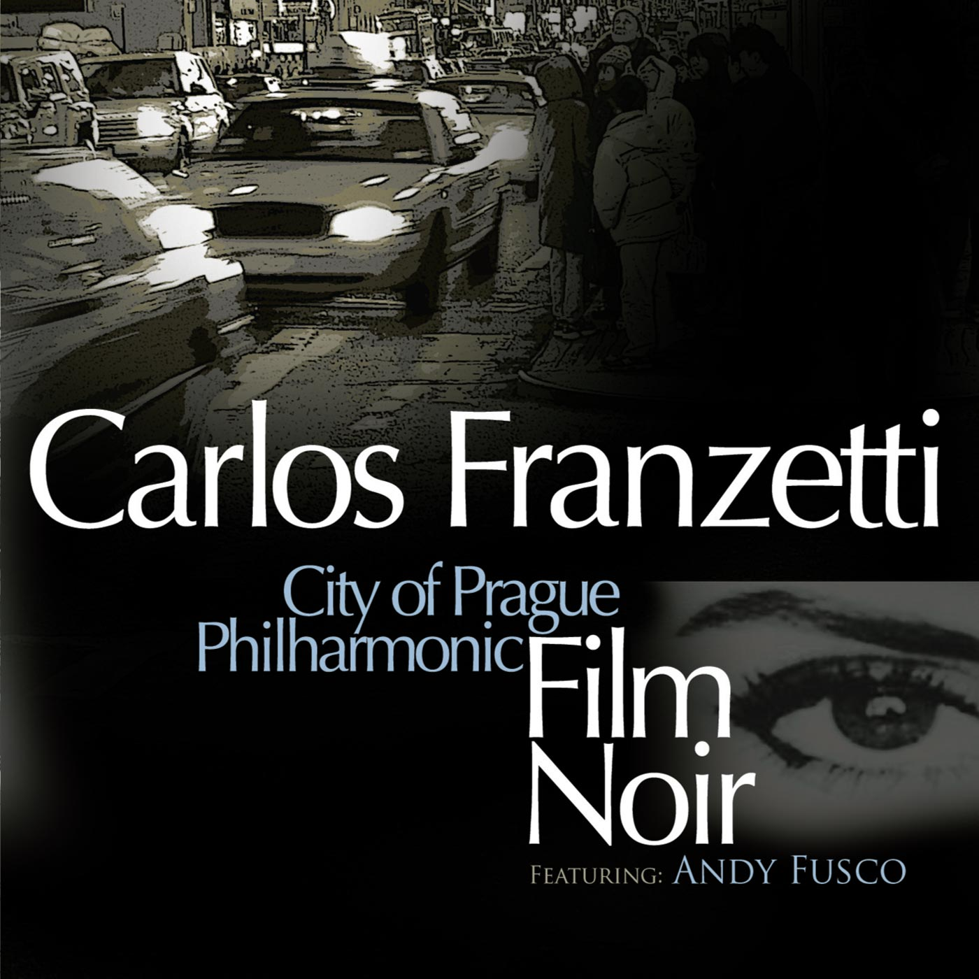 Film Noir by Carlos Franzetti cover