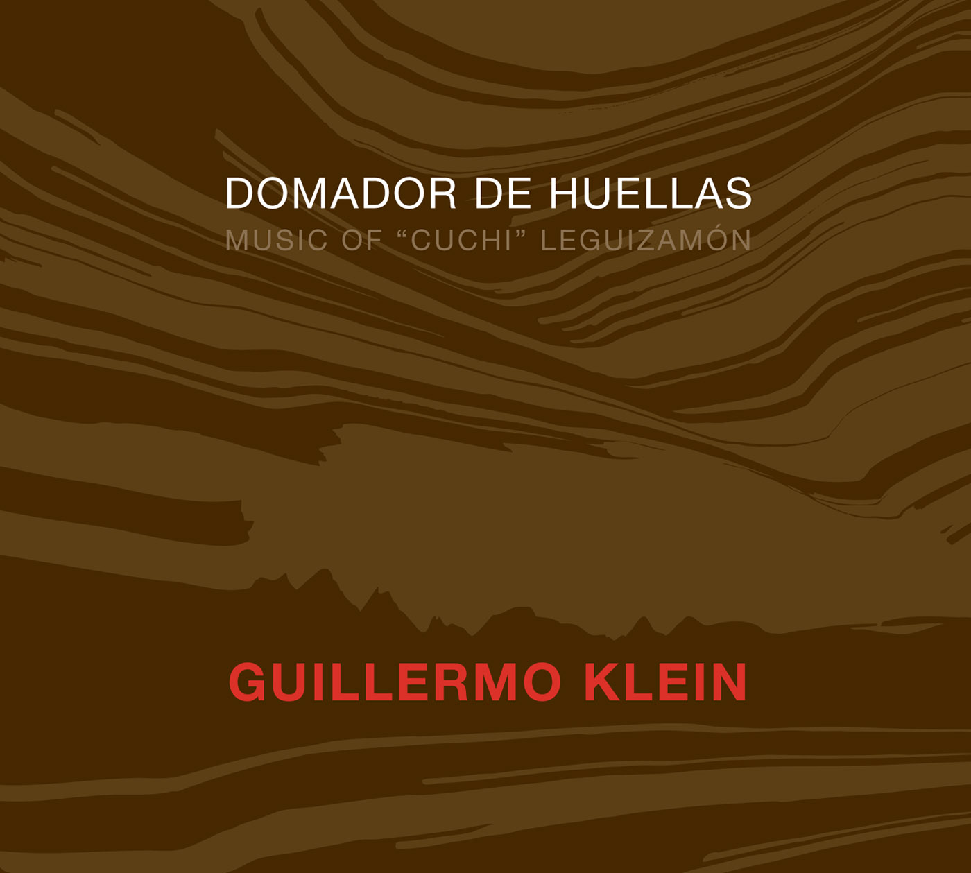 Domador de Huellas by Guillermo Klein cover