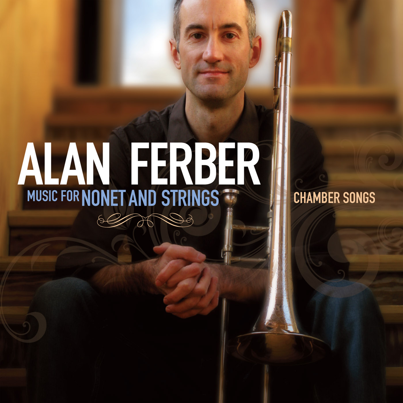 Music For Nonet And Strings - Chamber Songs by Alan Ferber  cover