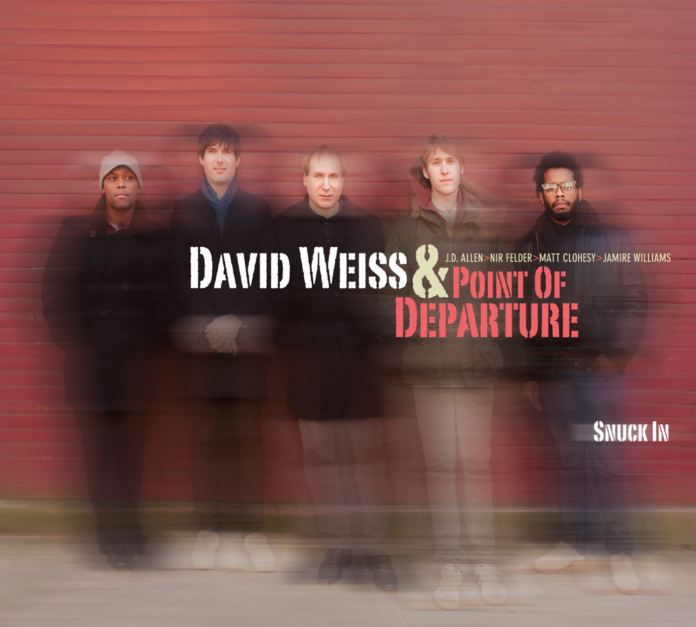 Snuck In by David Weiss cover