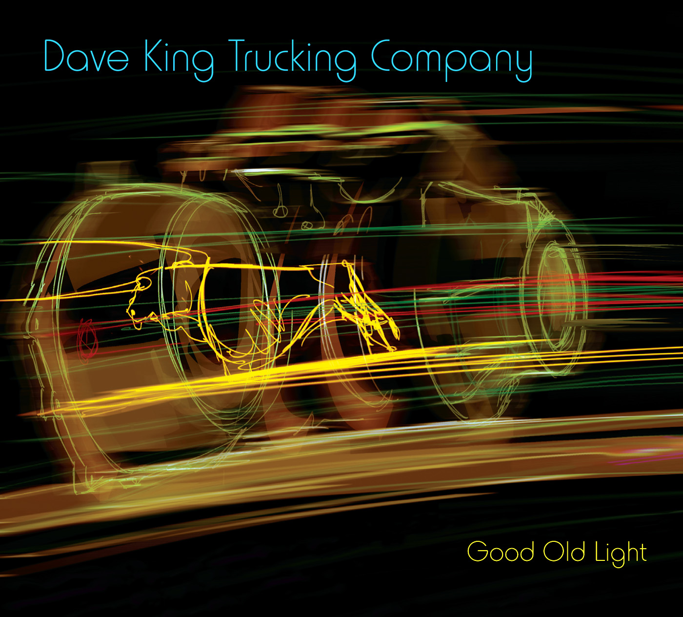Good Old Light by Dave King Trucking Company cover
