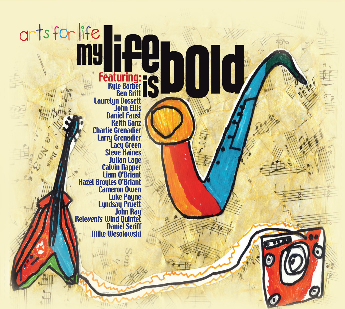 My Life Is Bold by Arts For Life cover