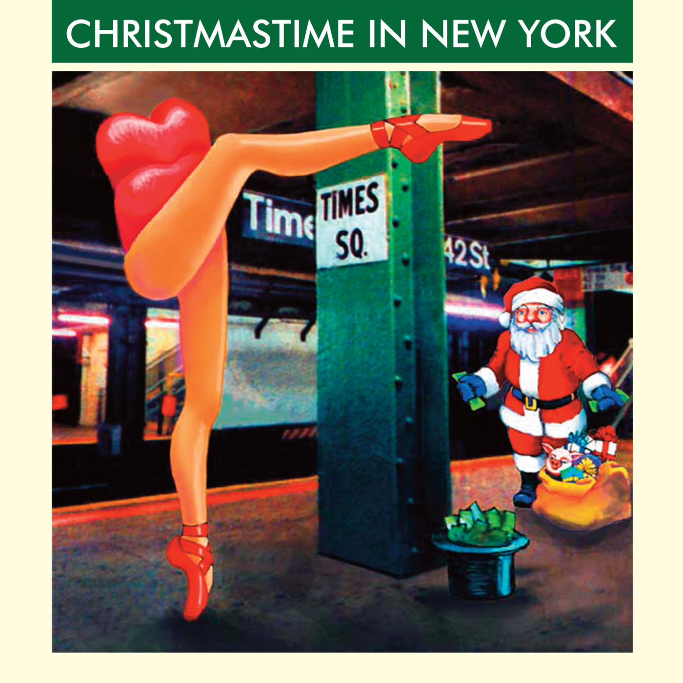 Christmastime in New York by Various Artists cover