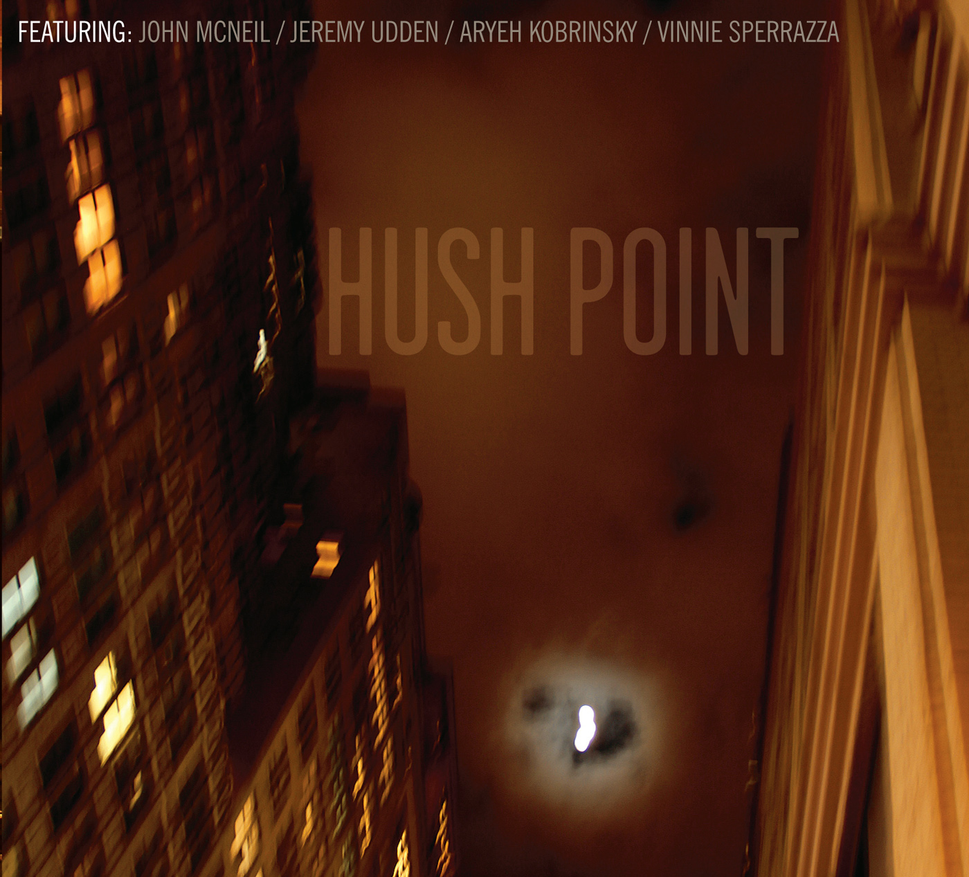Hush Point by John McNeil cover