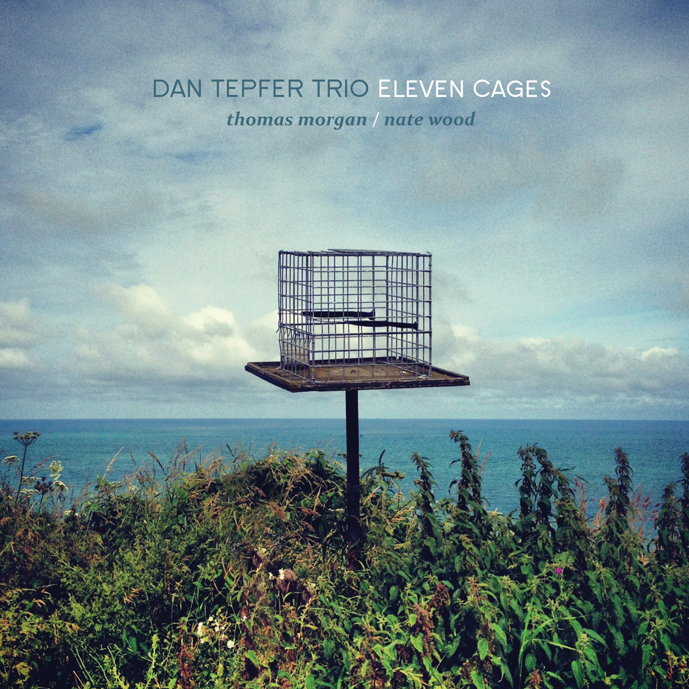 Eleven Cages  by Dan  Tepfer cover