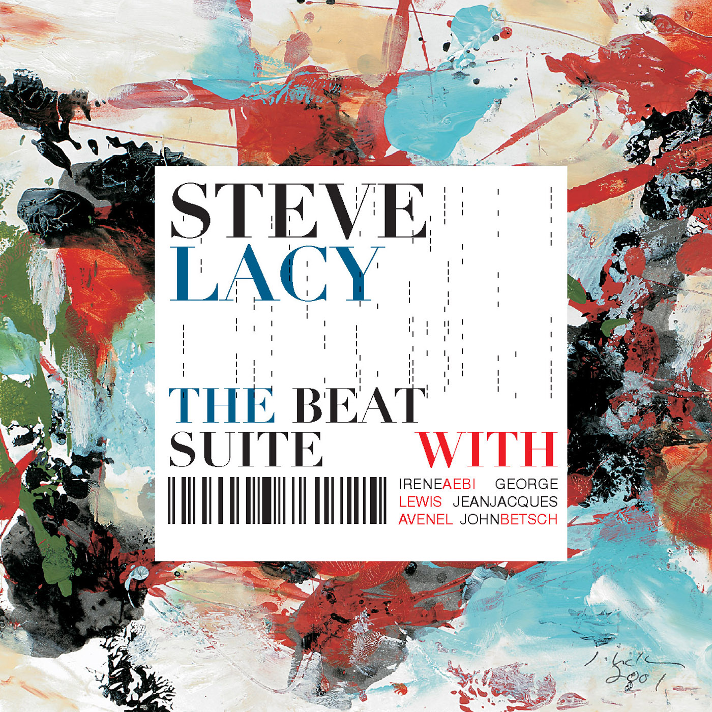 The Beat Suite by Steve Lacy cover