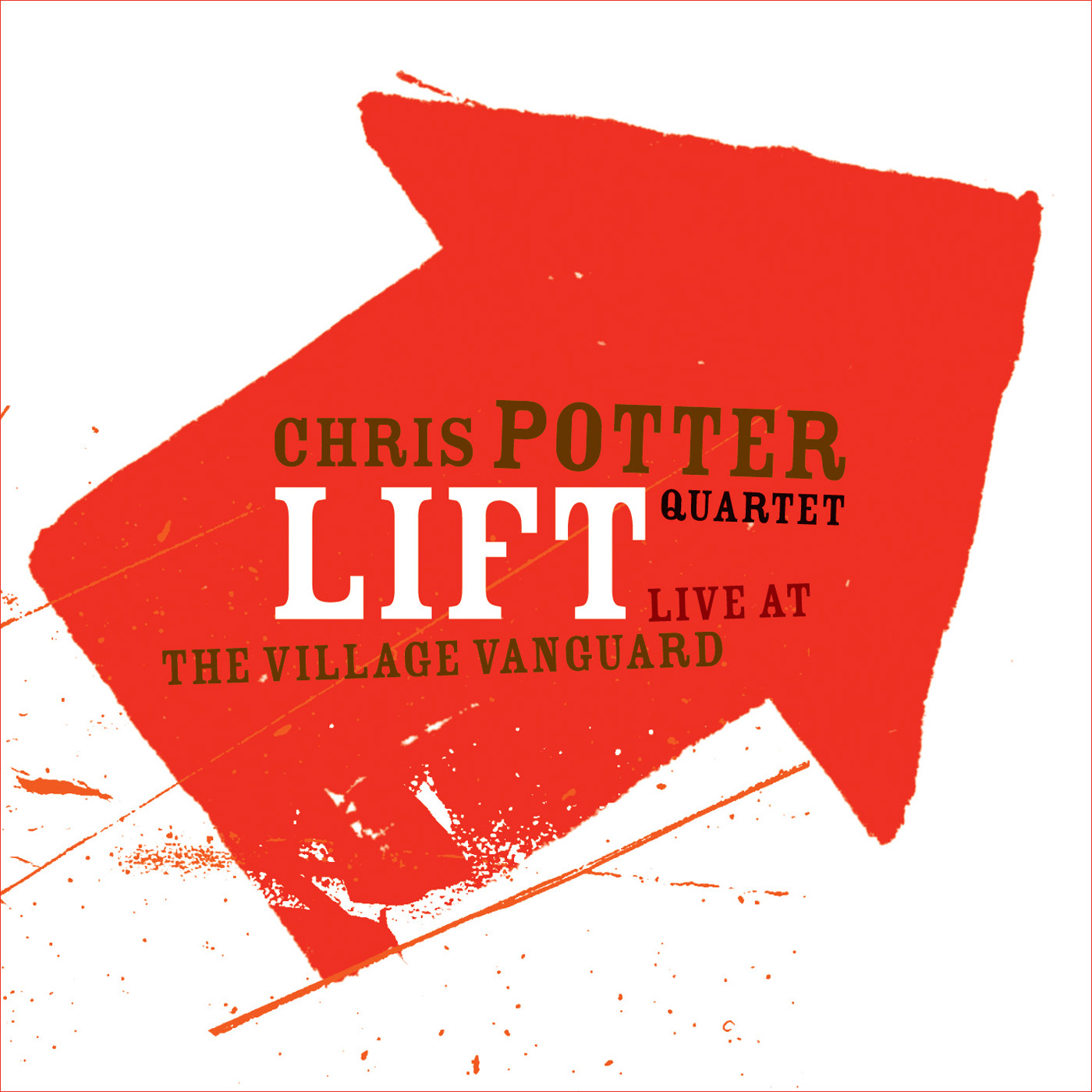 Lift: Live at the Village Vanguard by Chris Potter cover