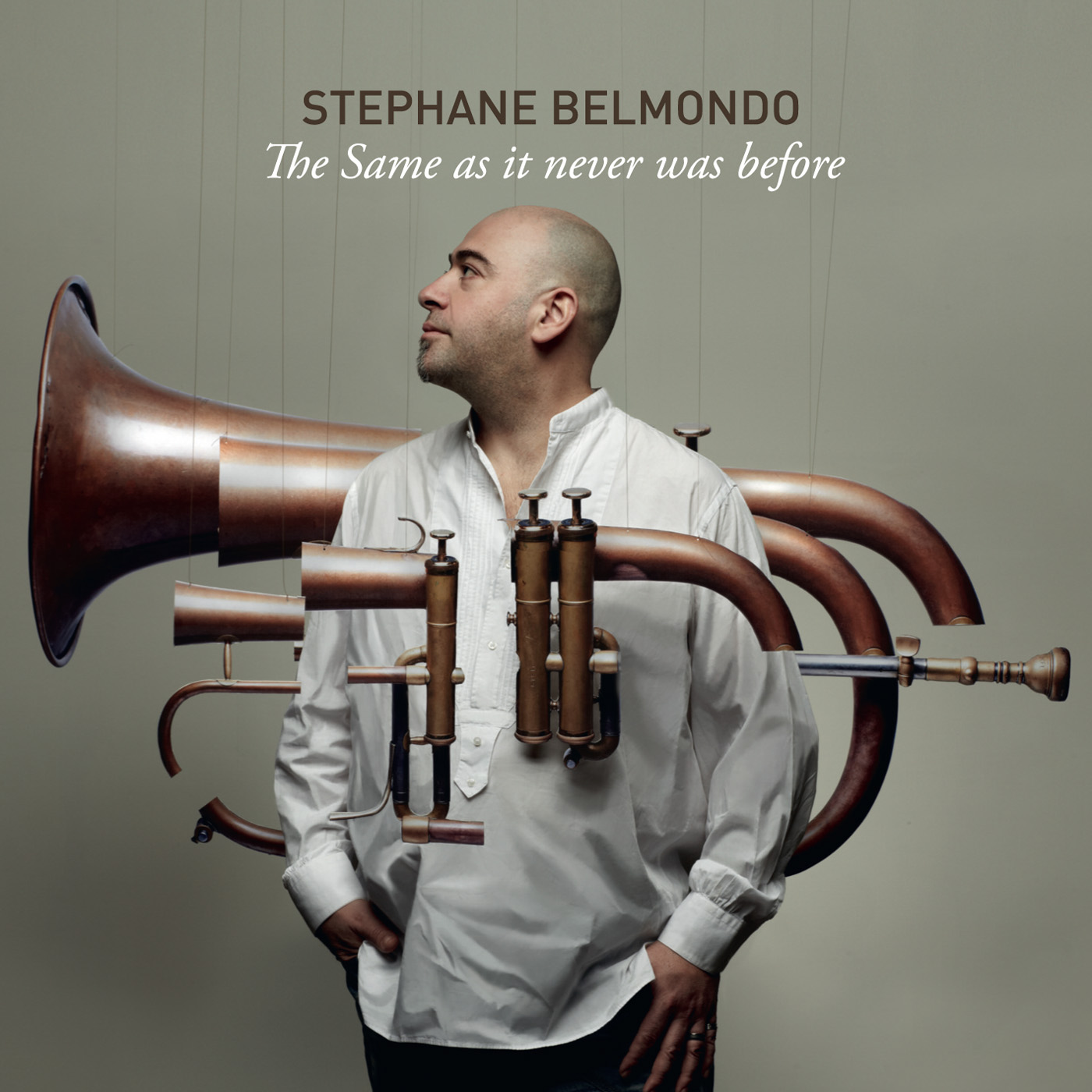 The Same As It Never Was Before by Stephane Belmondo cover