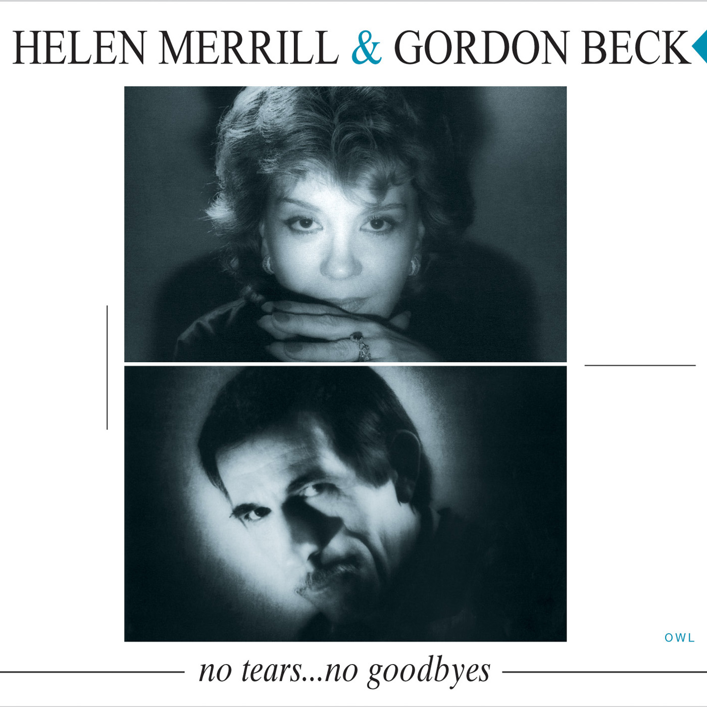 No Tears, No Goodbyes by Helen Merrill & Gordon Beck cover