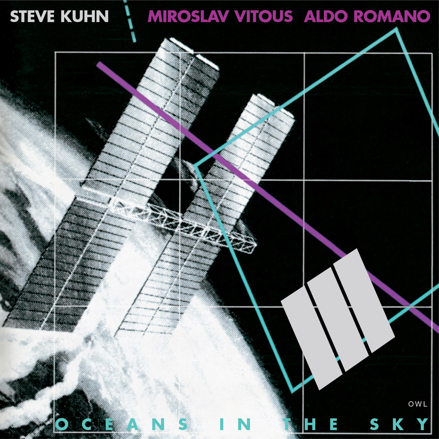 Oceans In The Sky by Steve Kuhn & Miroslav Vitous & Aldo Romano cover