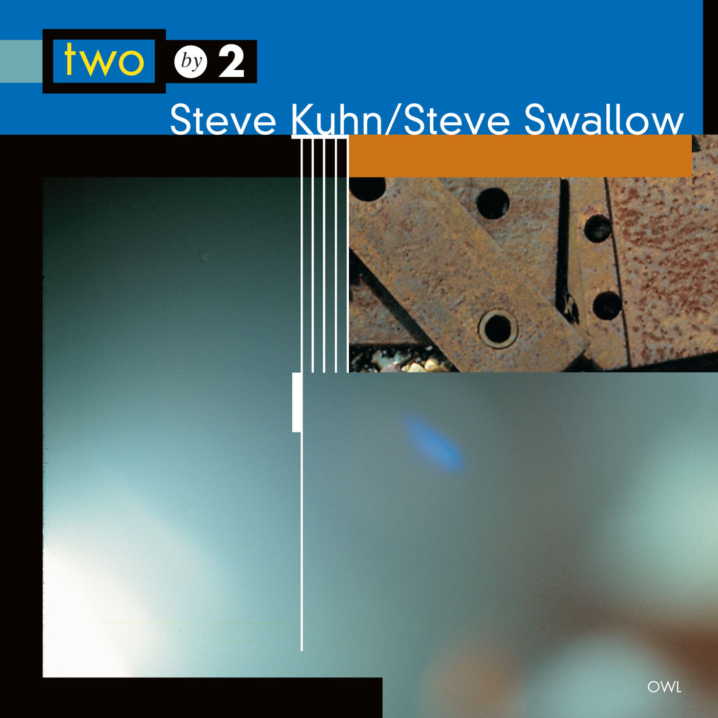 Two by 2 by steve Kuhn & Steve Swallow cover