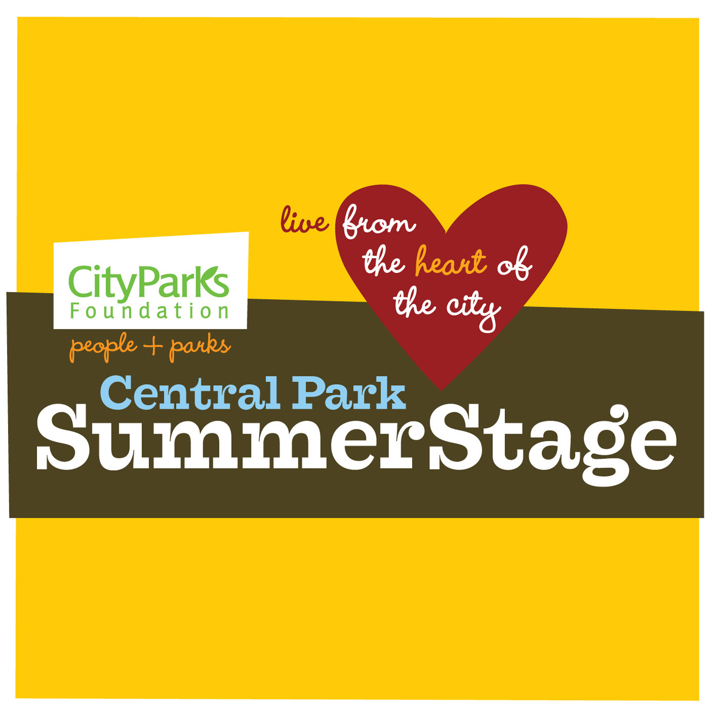 Live From The Heart Of The City on Central Park Summerstage