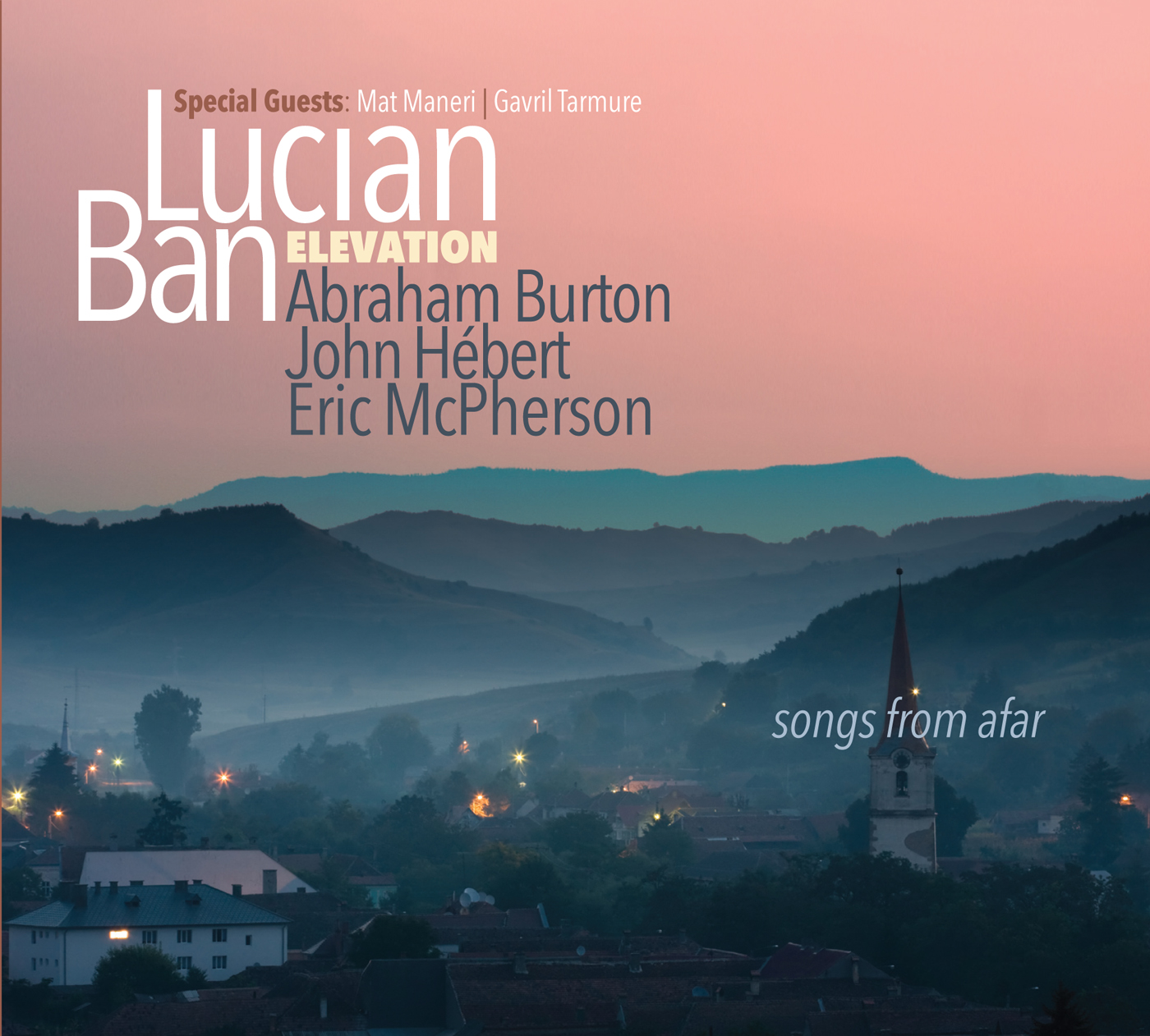 Songs from Afar  by Lucian  Ban cover