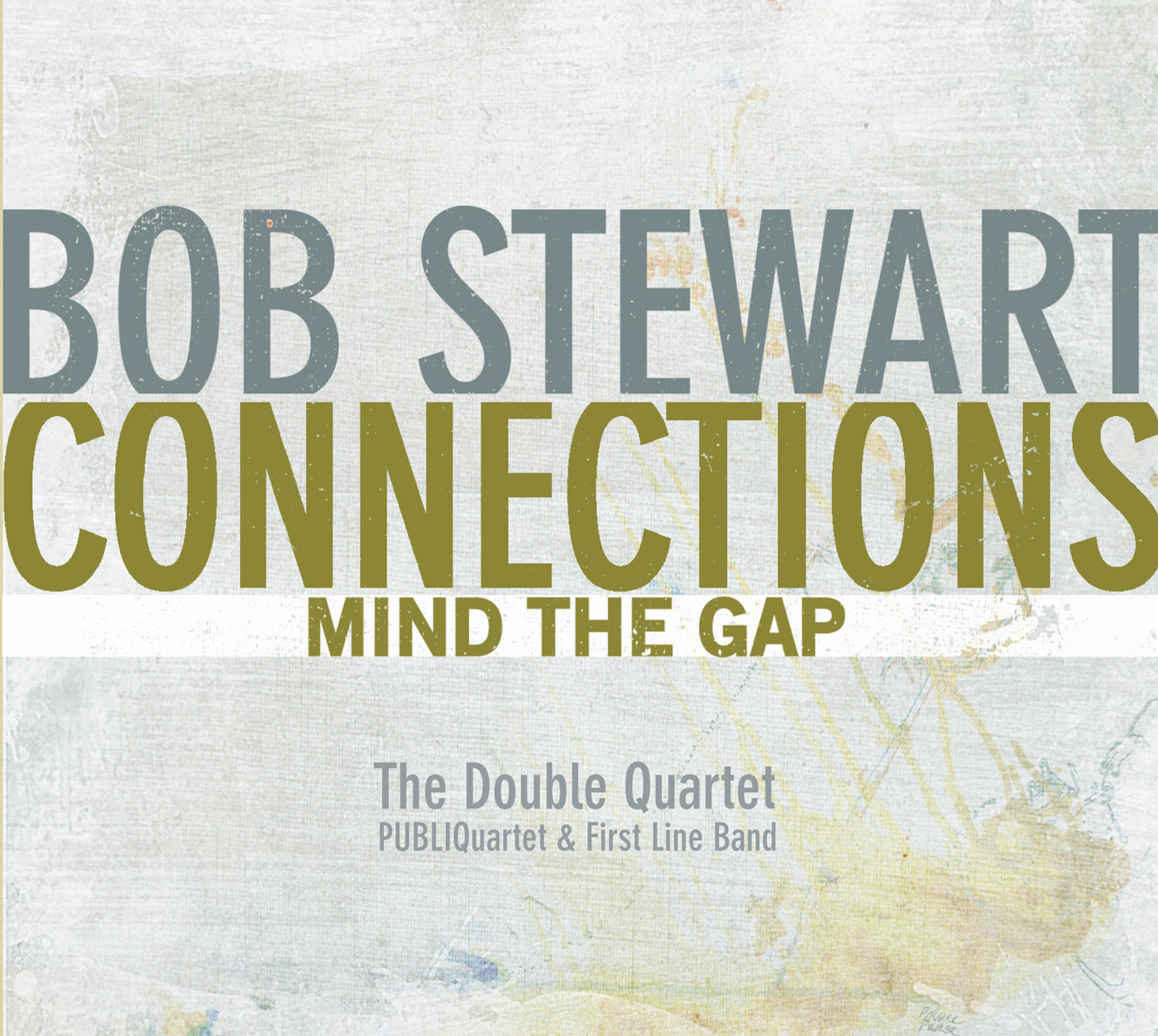 Connections-Mind the Gap  by Bob  Stewart cover