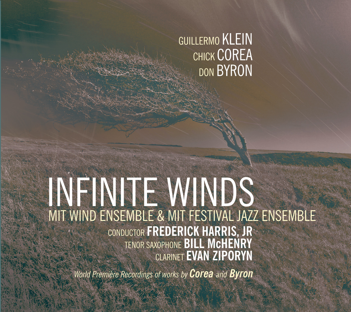 Infinite Winds  by Guillermo  Klein cover