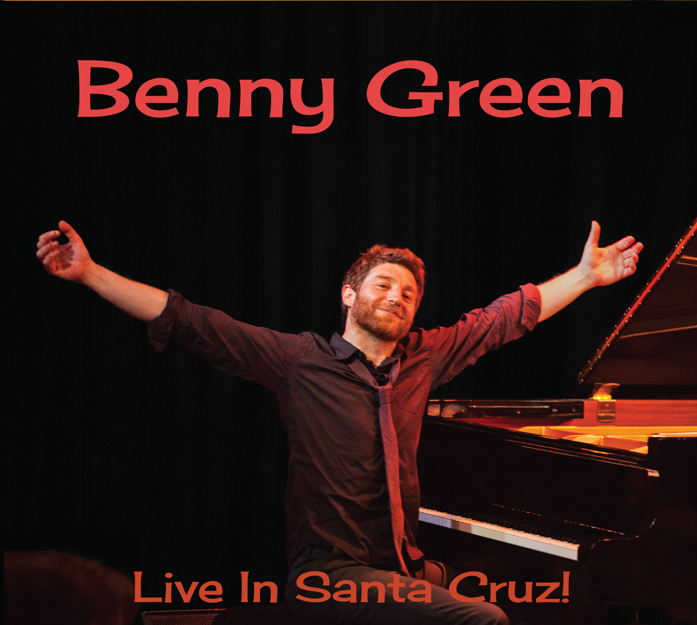 Live in Santa Cruz!  by Benny  Green cover