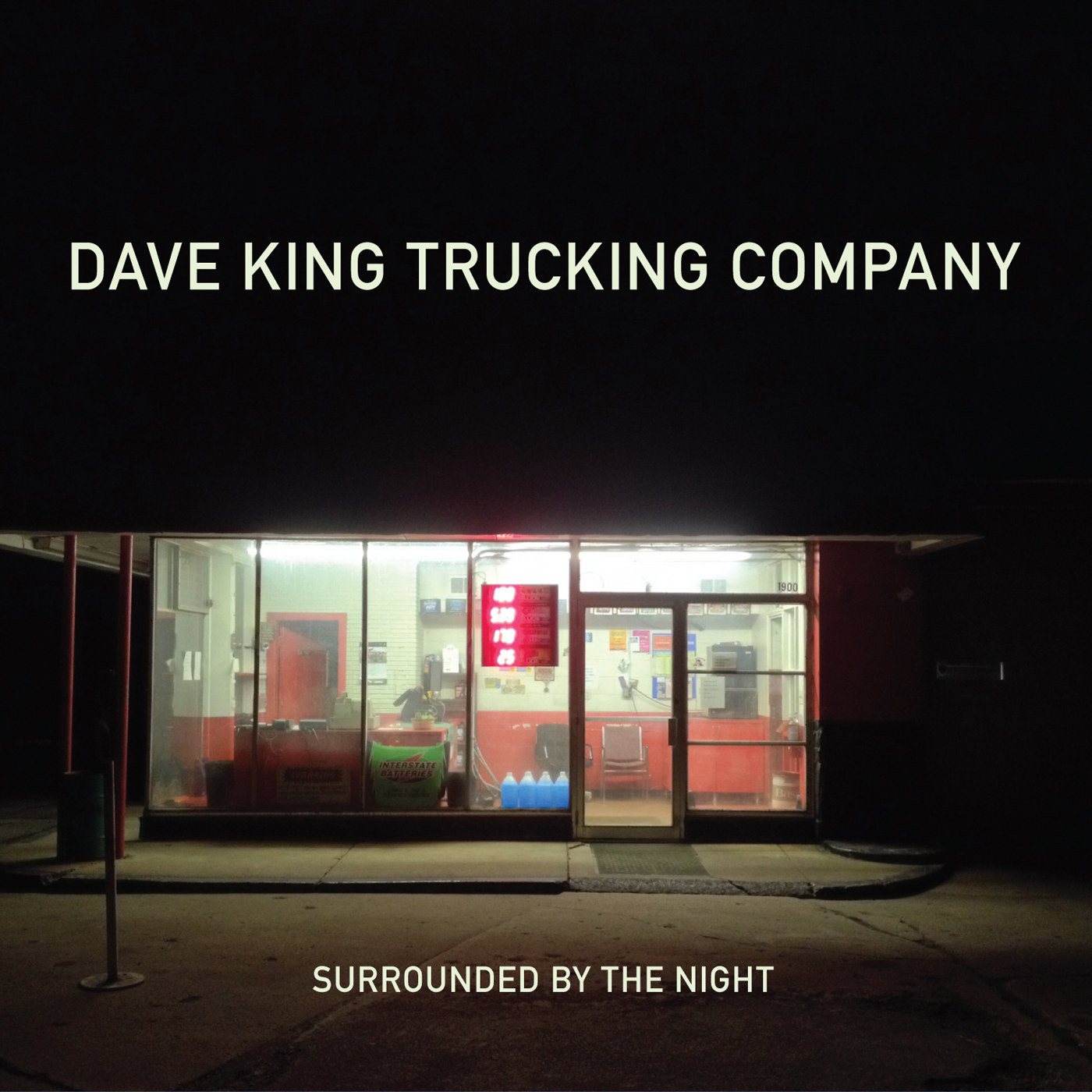 Surrounded by the Night  by Dave  King cover