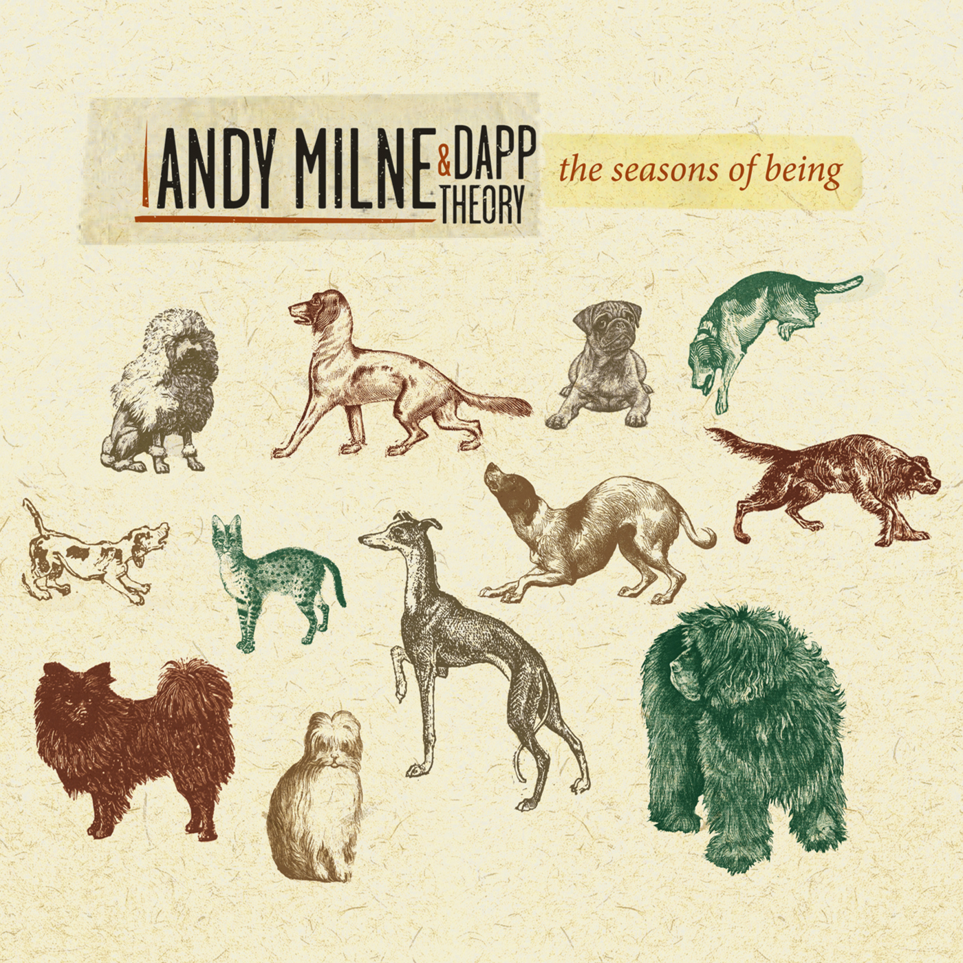 The Seasons of Being  by Andy  Milne & Dapp Theory cover