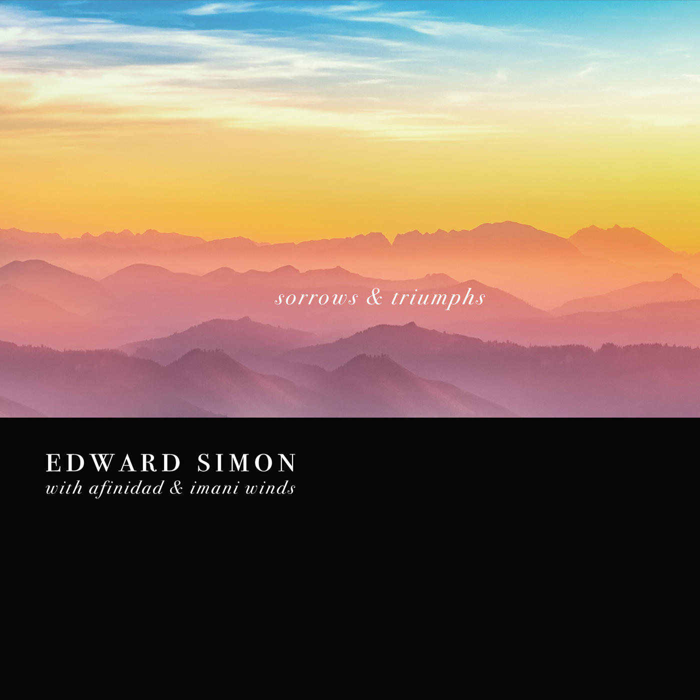 Sorrows and Triumphs  by Edward  Simon cover