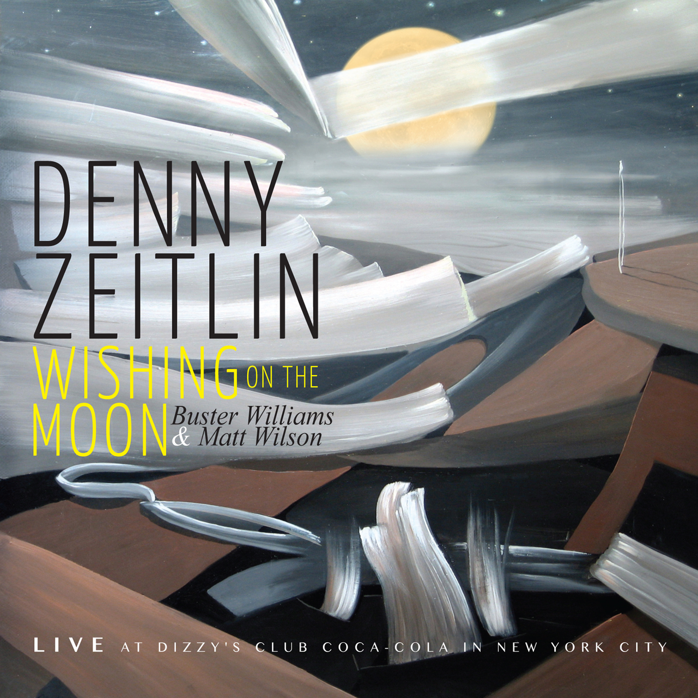Wishing On the Moon  by Denny  Zeitlin cover