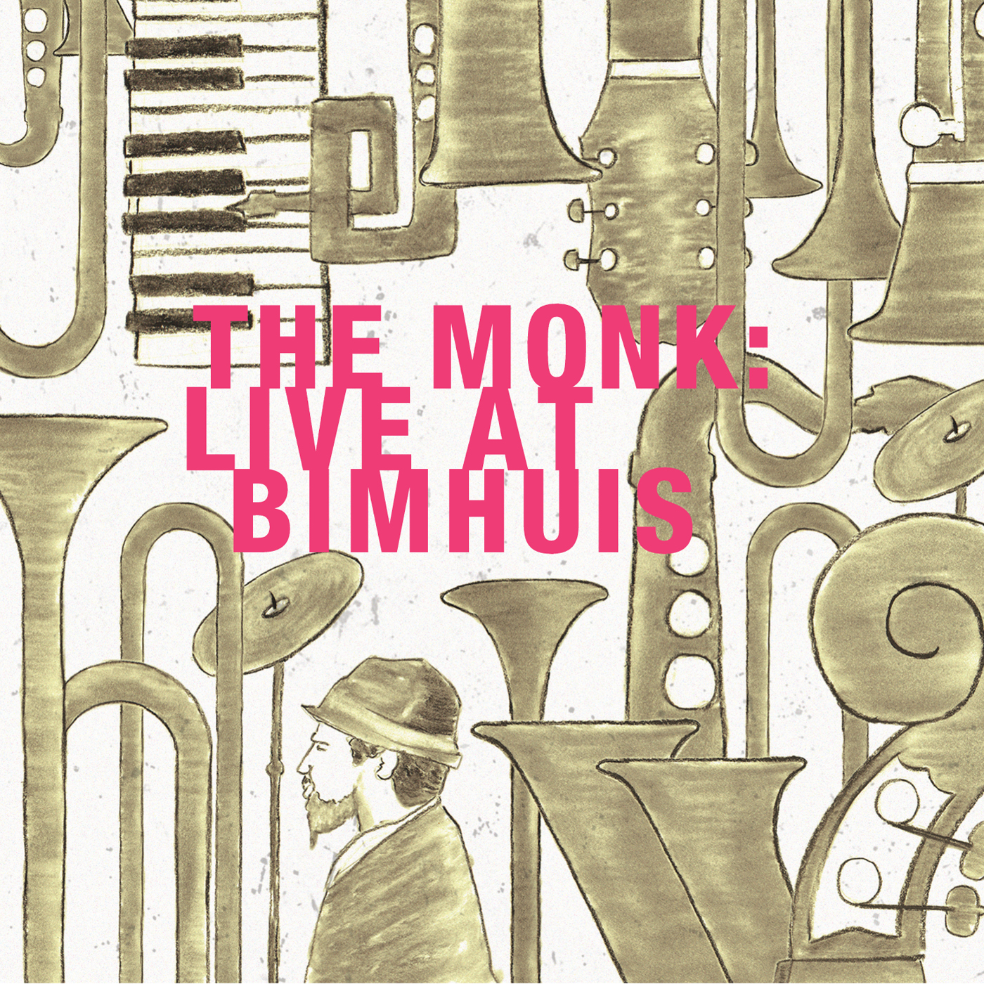 The Monk: Live at Bimhuis  by Miho  Hazama cover