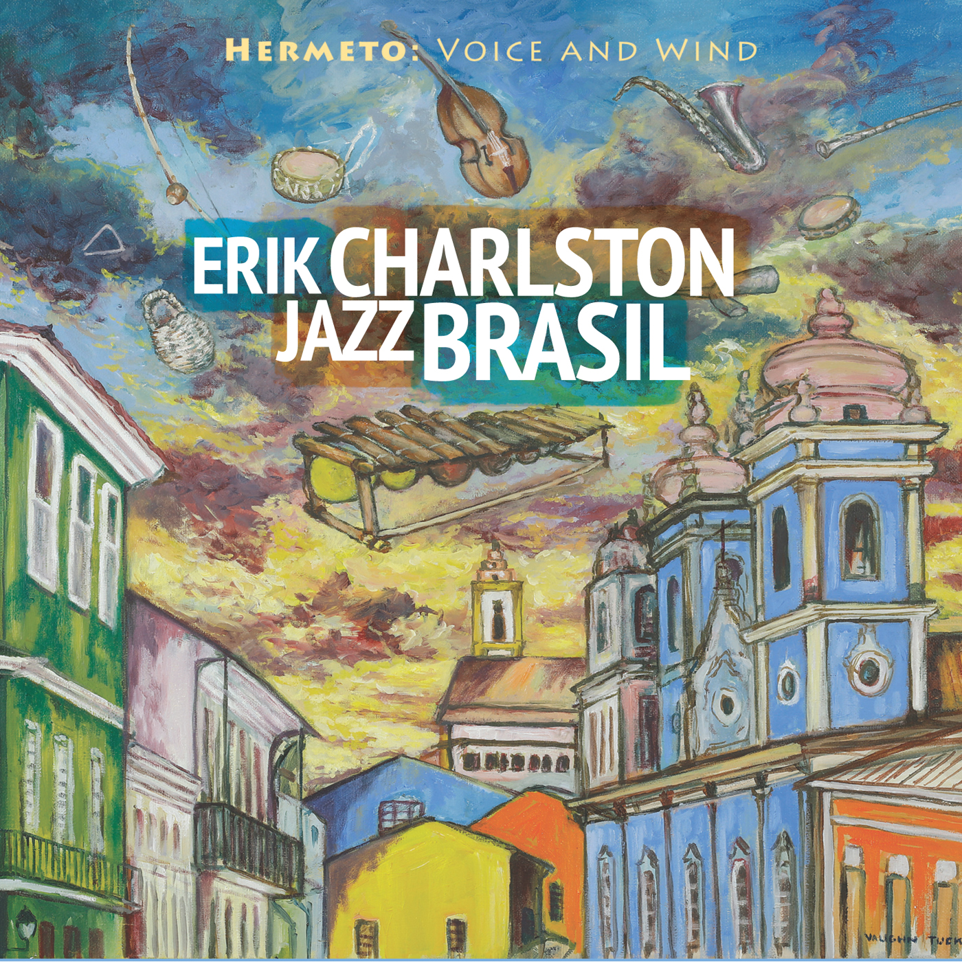 Hermeto: Voice and Wind  by Erik  Charlston cover