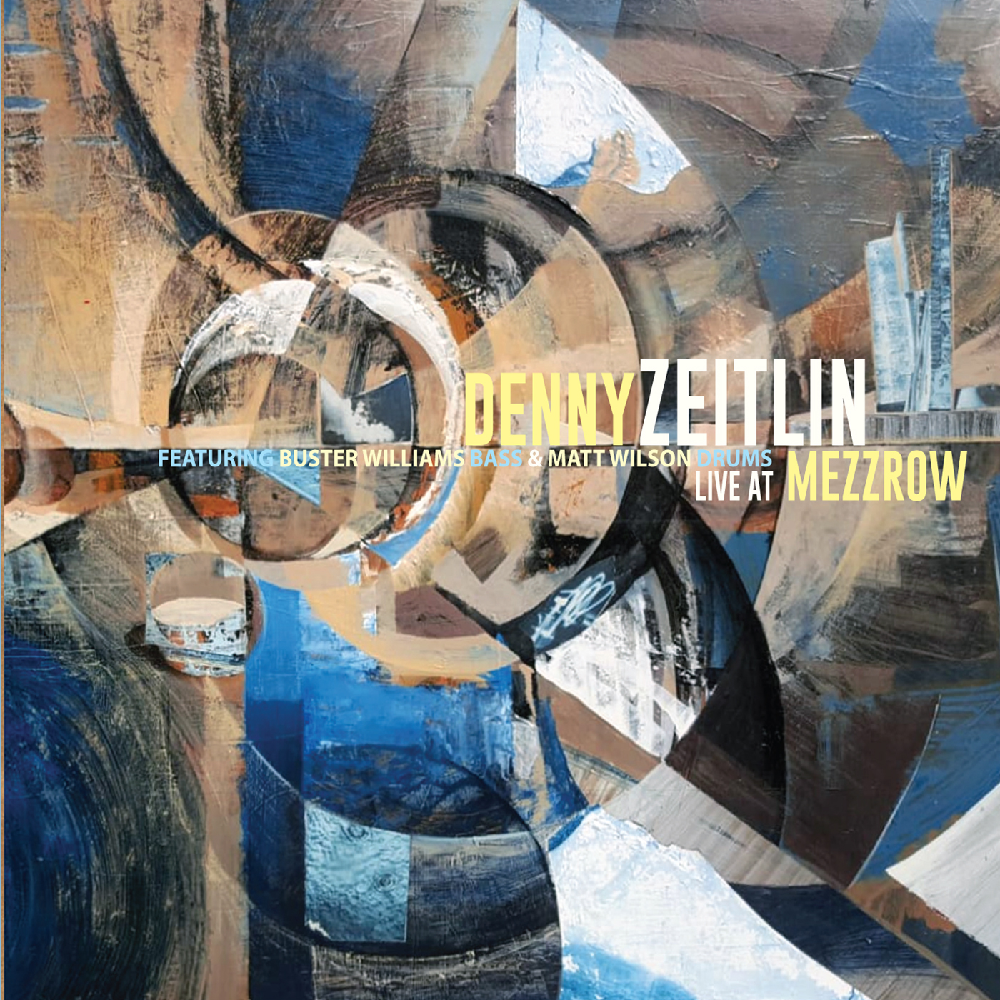Live at Mezzrow  by Denny  Zeitlin cover