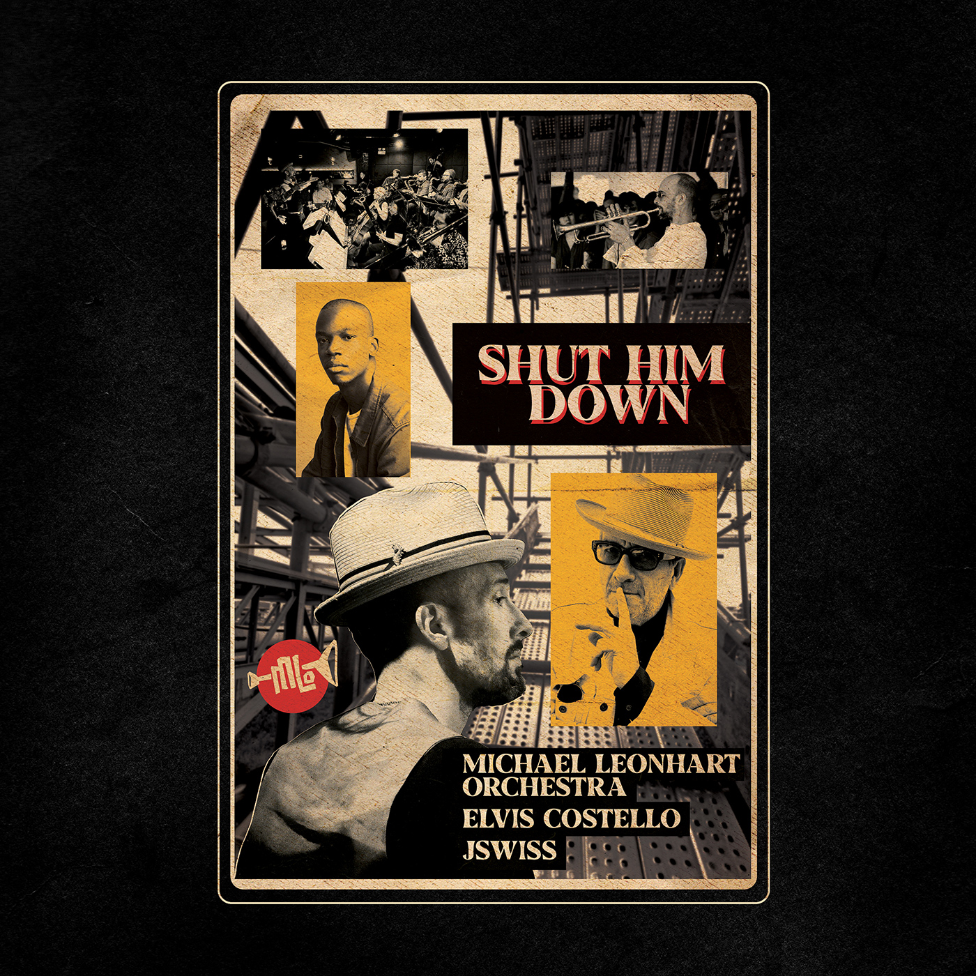 Shut Him Down  by Michael  Leonhart cover
