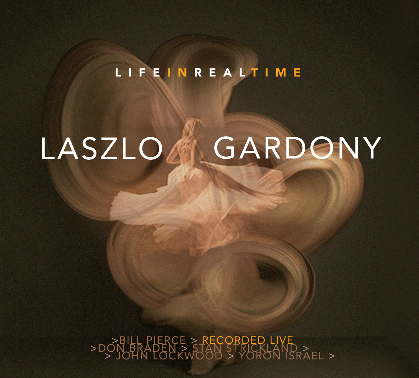 Life in Real Time  by Laszlo  Gardony cover