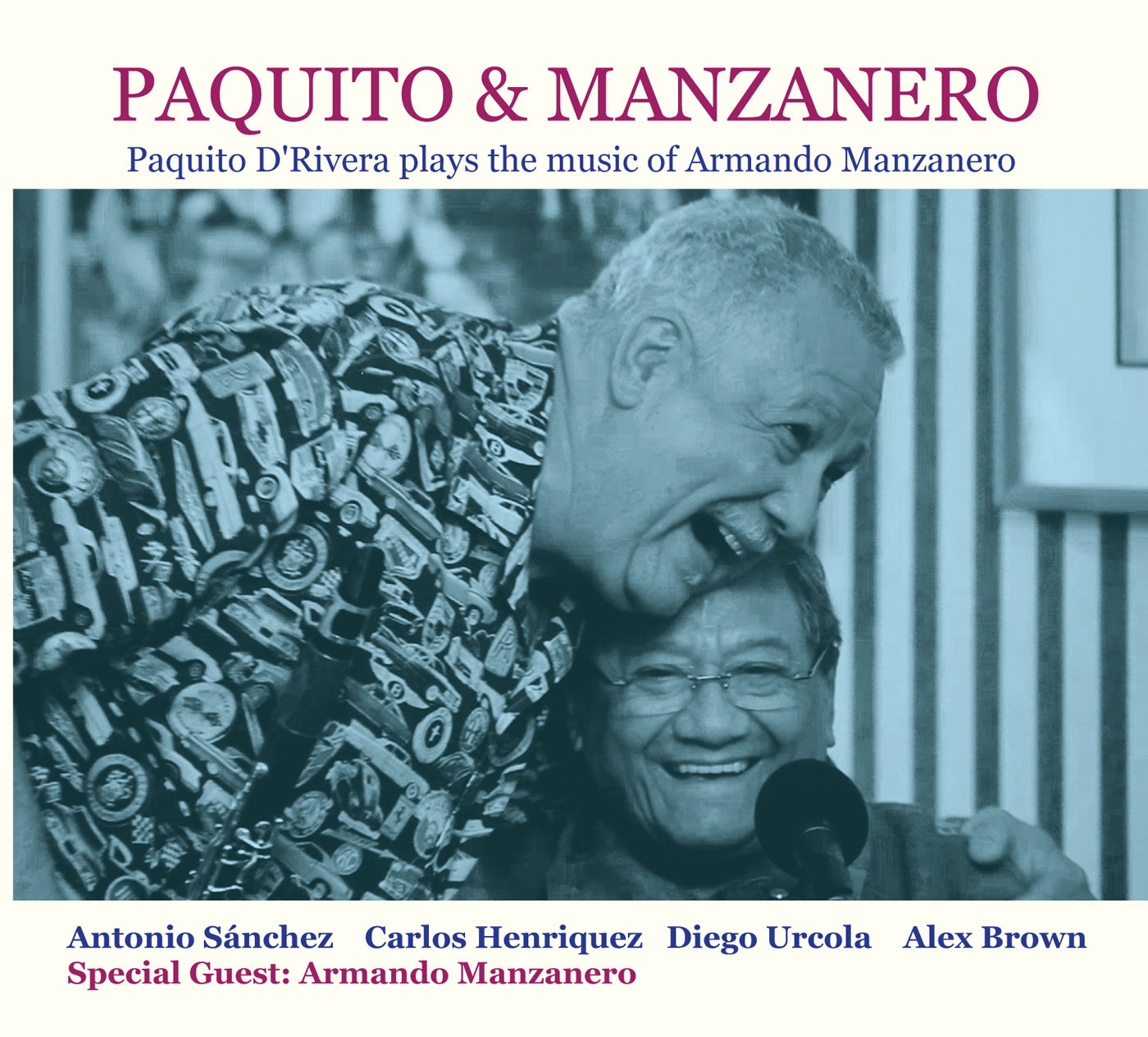 Paquito D'Rivera Plays the Music of Armando Manzanero  by Paquito  D'Rivera cover