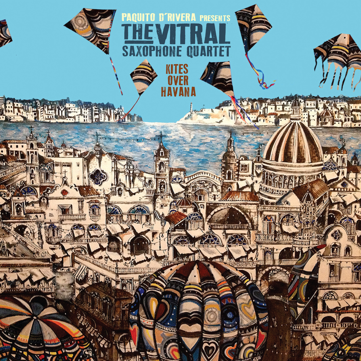 Kites Over Havana  by The  Vitral Saxophone Qaurtet cover