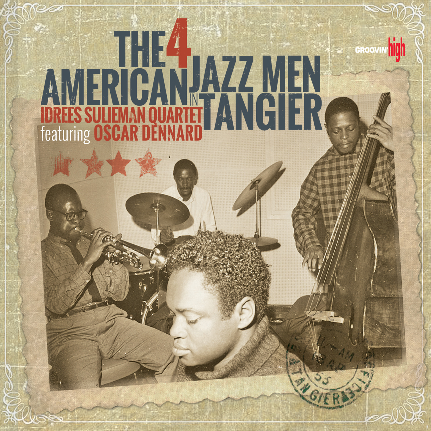 The 4 American Jazz Men in Tangier  by   Idrees Sulieman Quartet cover