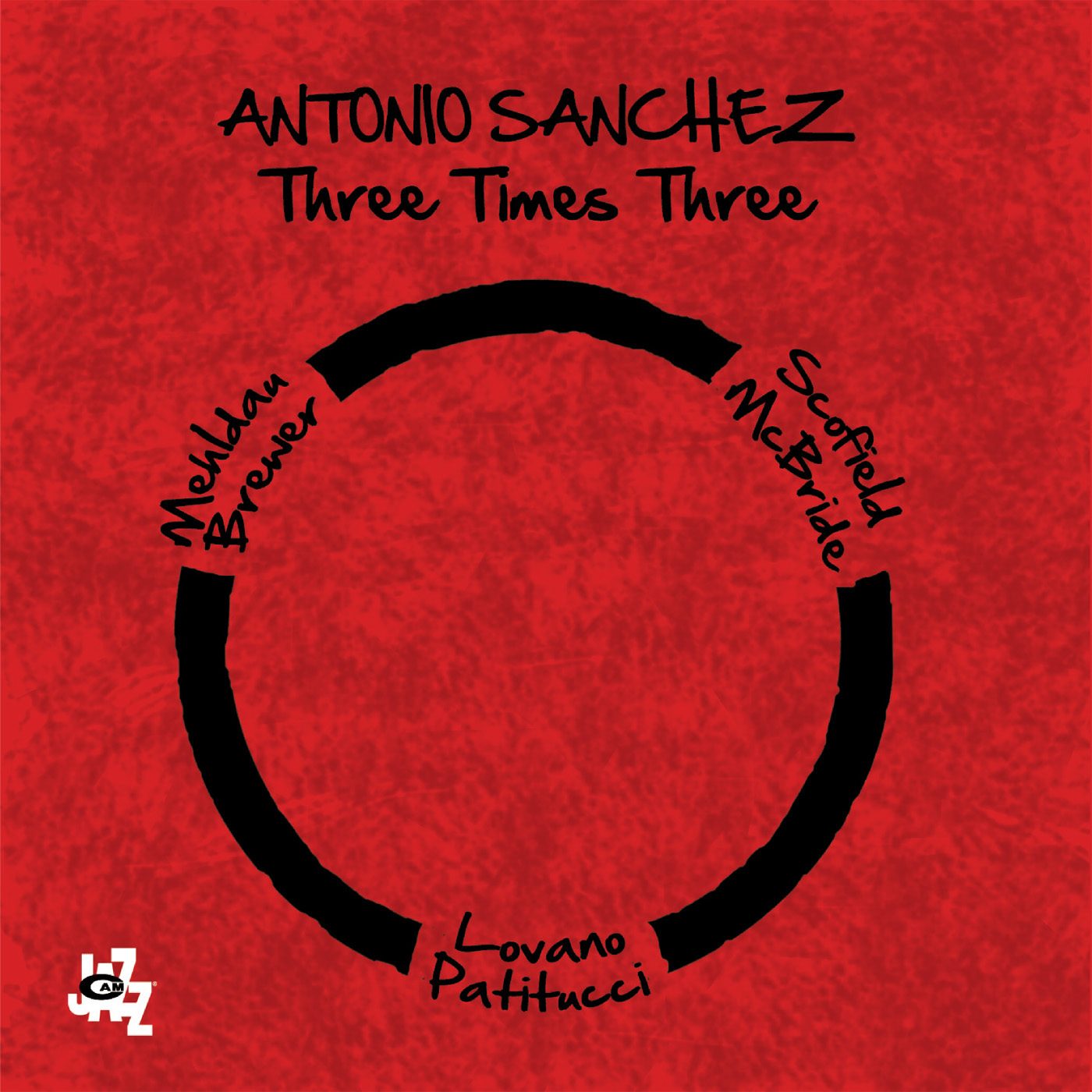 Three Times Three  by Antonio  Sanchez cover