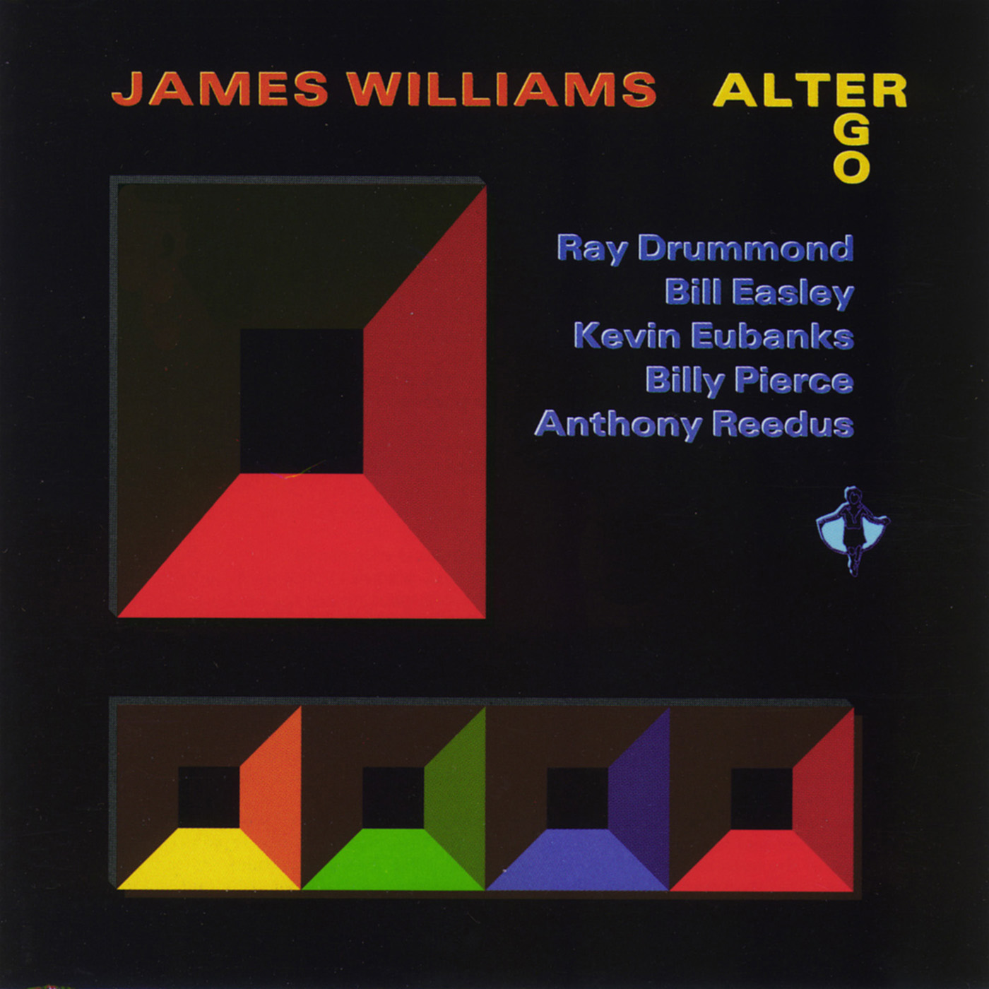 Alter Ego by James Williams cover