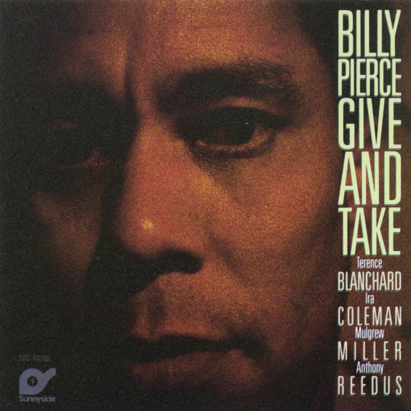Give & Take by Billy Pierce cover