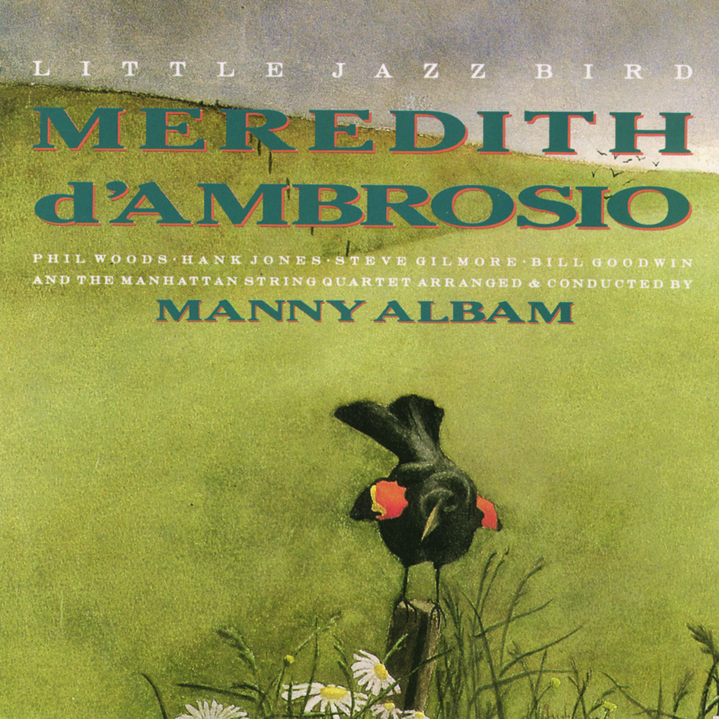 Little Jazz Bird by Meredith d\'Ambrosio cover