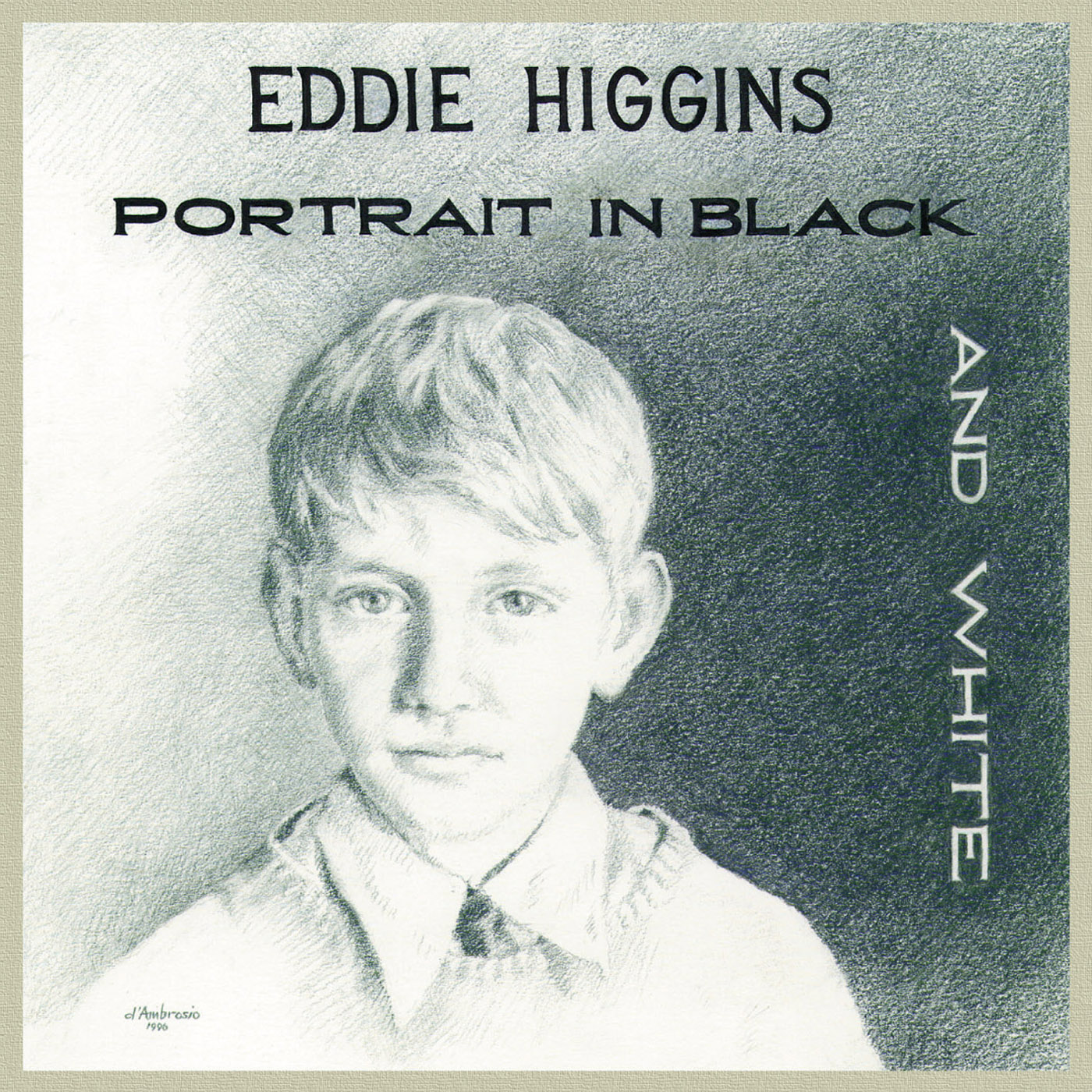 Portrait In Black And White by Eddie Higgins cover