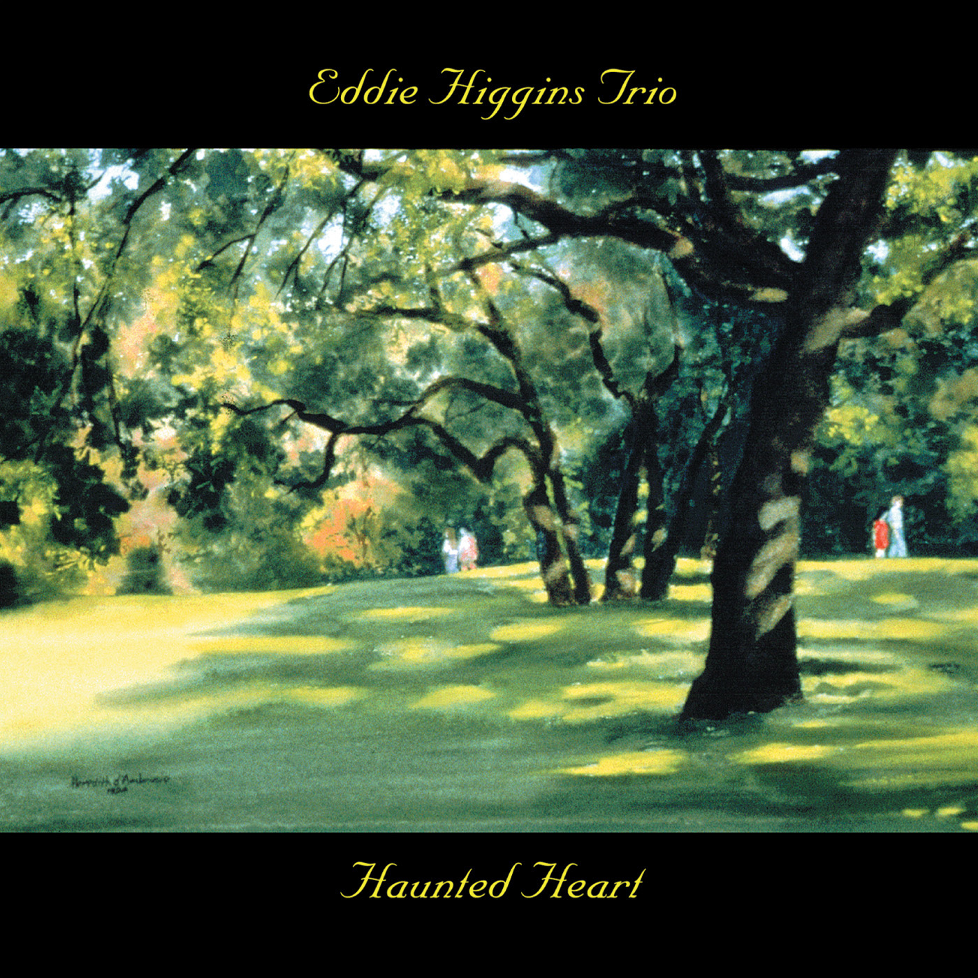 Haunted Heart by Eddie Higgins cover